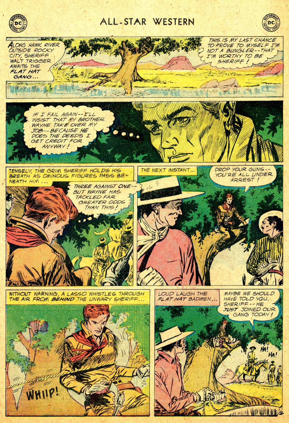 Read online All-Star Western (1951) comic -  Issue #104 - 4