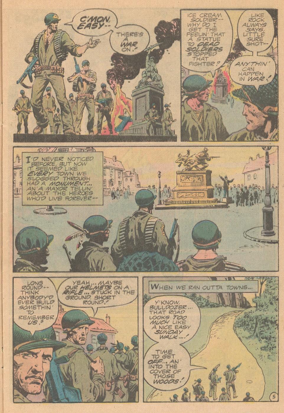 Read online Sgt. Rock comic -  Issue #363 - 6