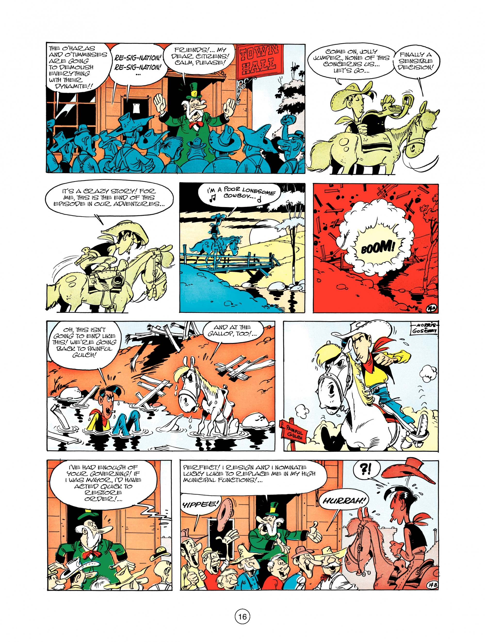 Read online A Lucky Luke Adventure comic -  Issue #12 - 16