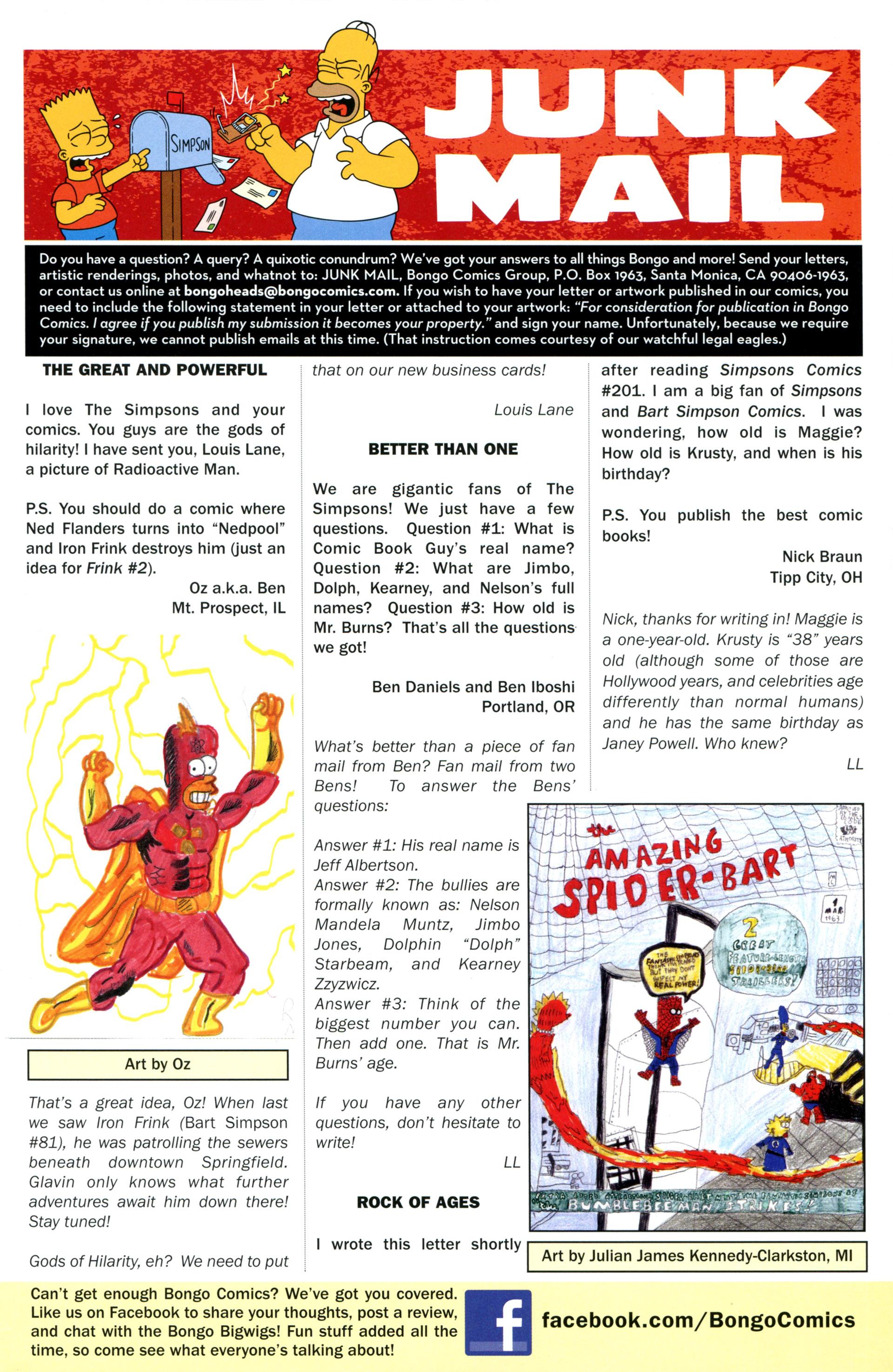Read online Simpsons Comics comic -  Issue #206 - 29