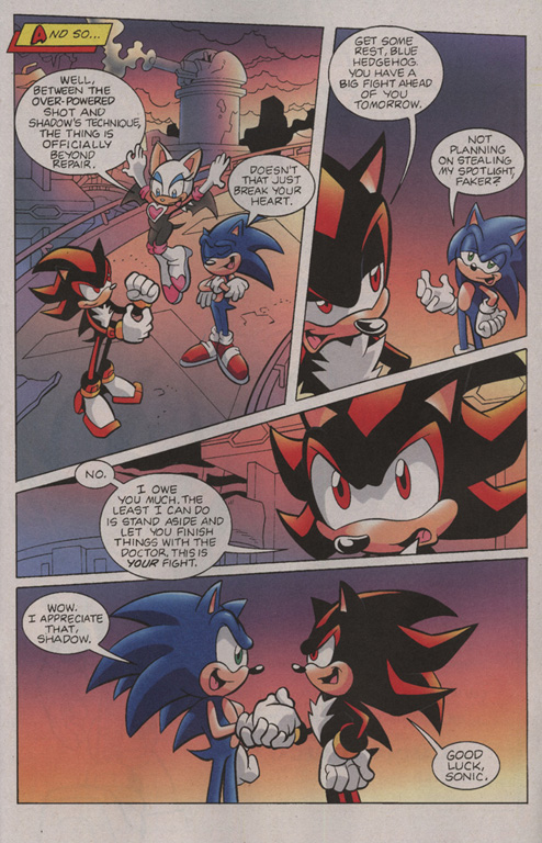 Read online Sonic Universe comic -  Issue #2 - 22
