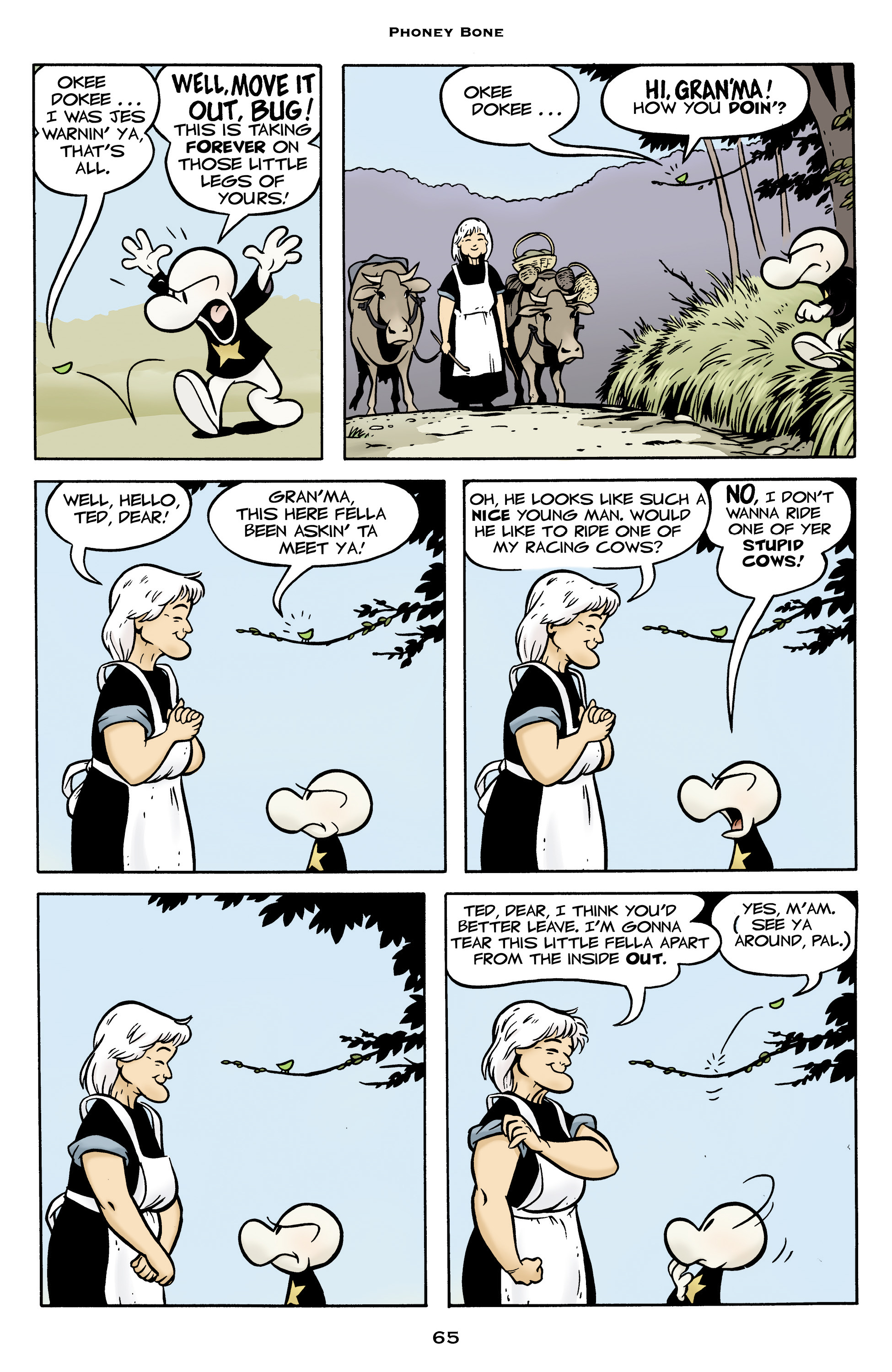 Read online Bone: Out From Boneville comic -  Issue # TPB - 65