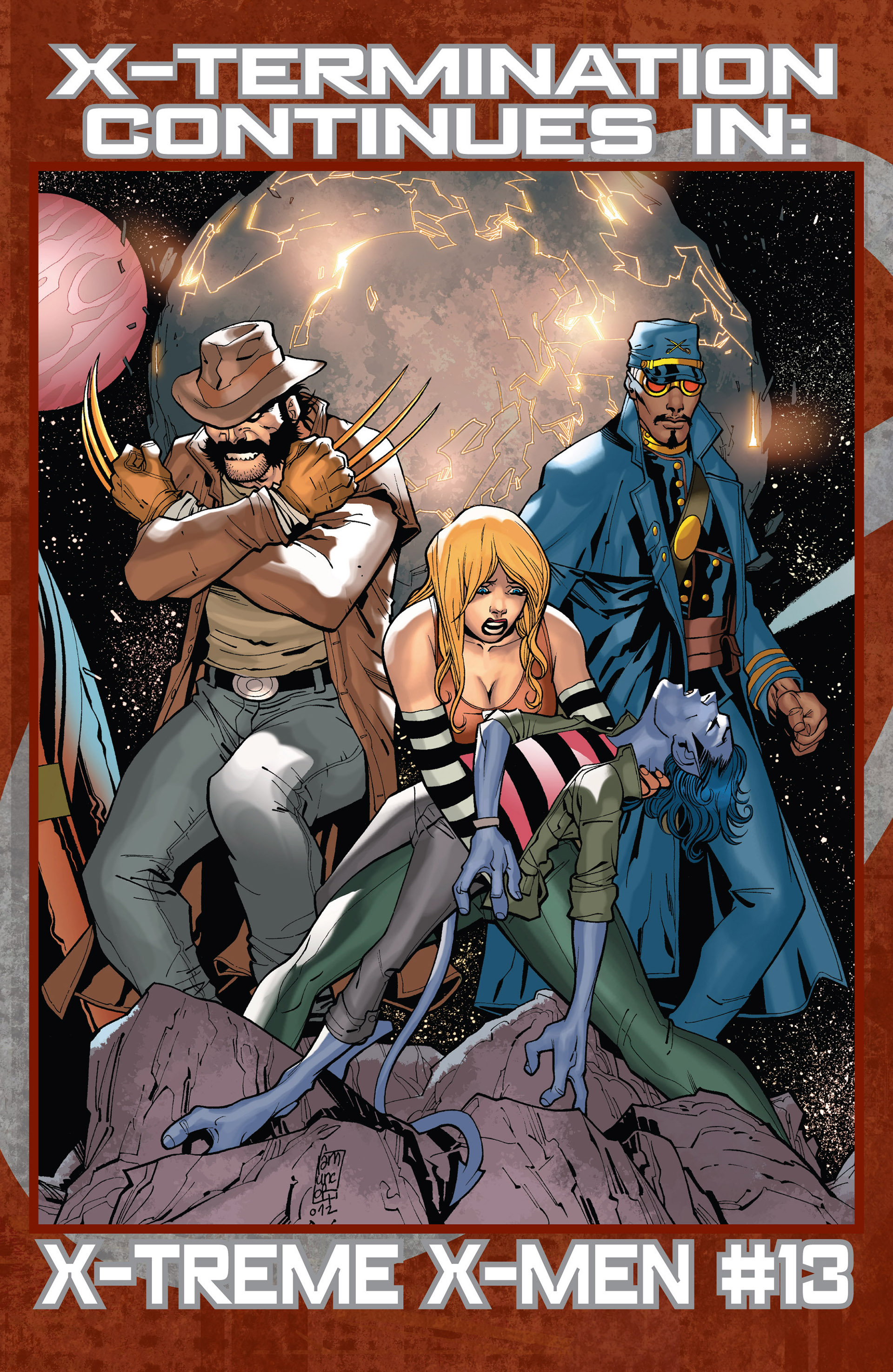 Read online Age of Apocalypse (2012) comic -  Issue #14 - 22