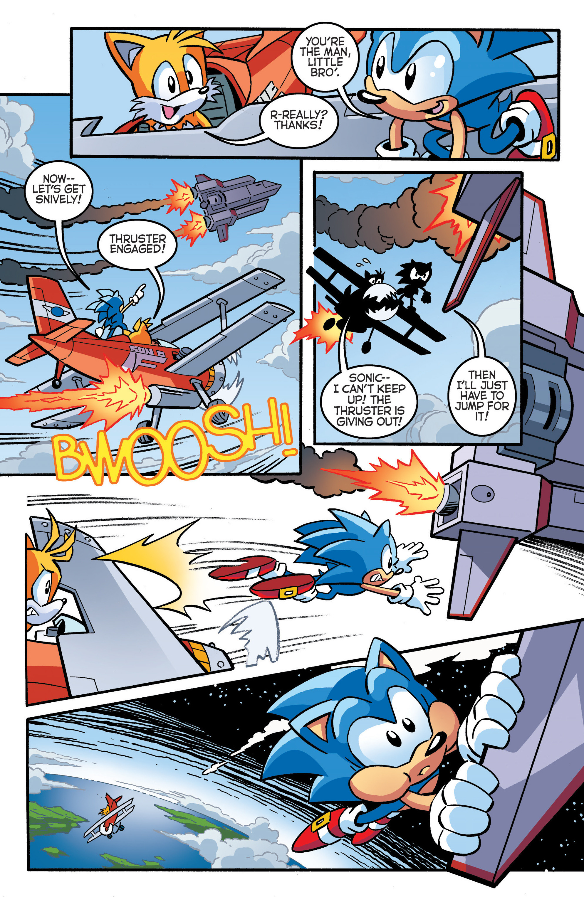 Read online Sonic The Hedgehog comic -  Issue #289 - 14