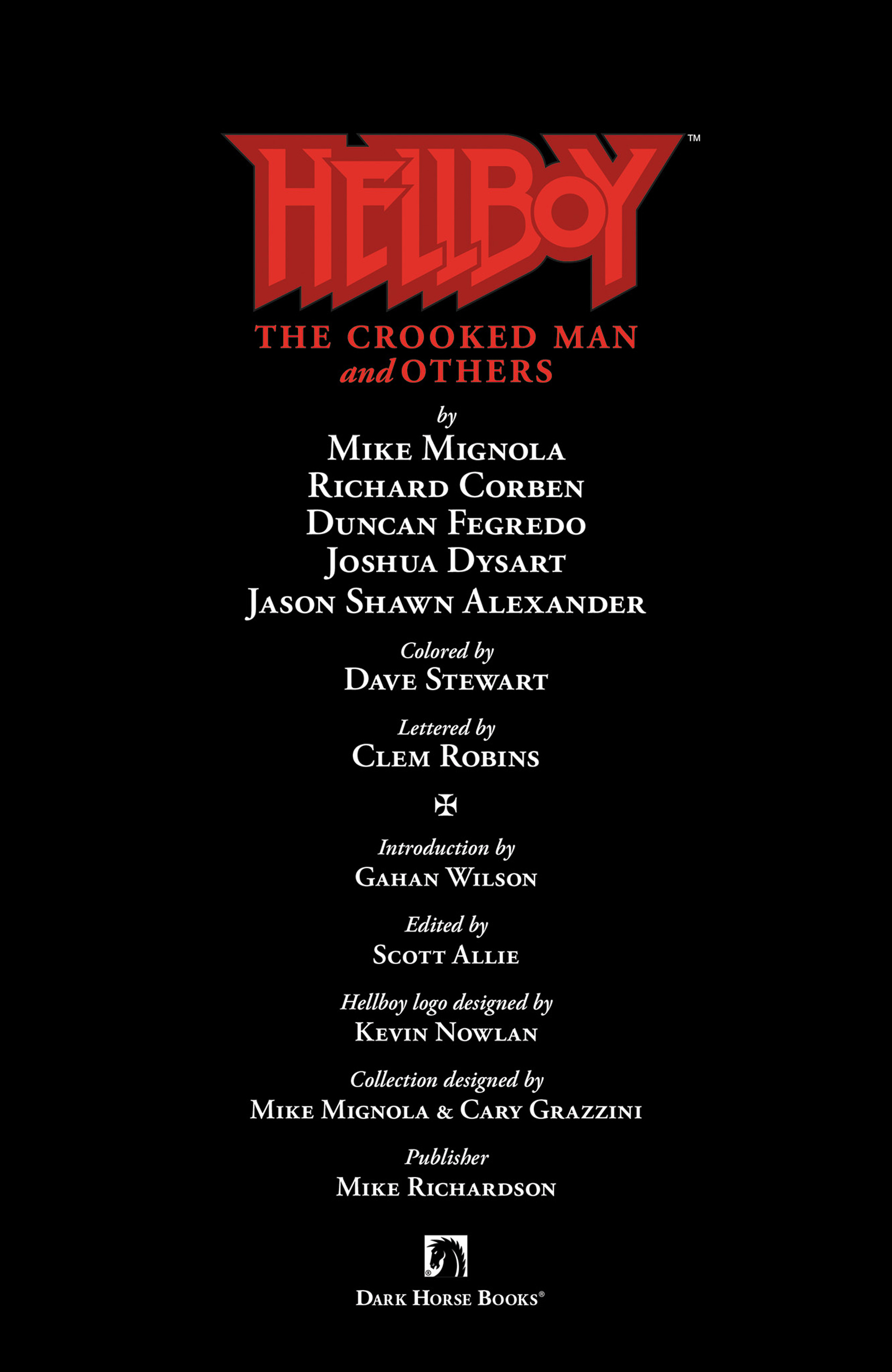 Read online Hellboy: The Crooked Man and Others comic -  Issue # TPB - 4