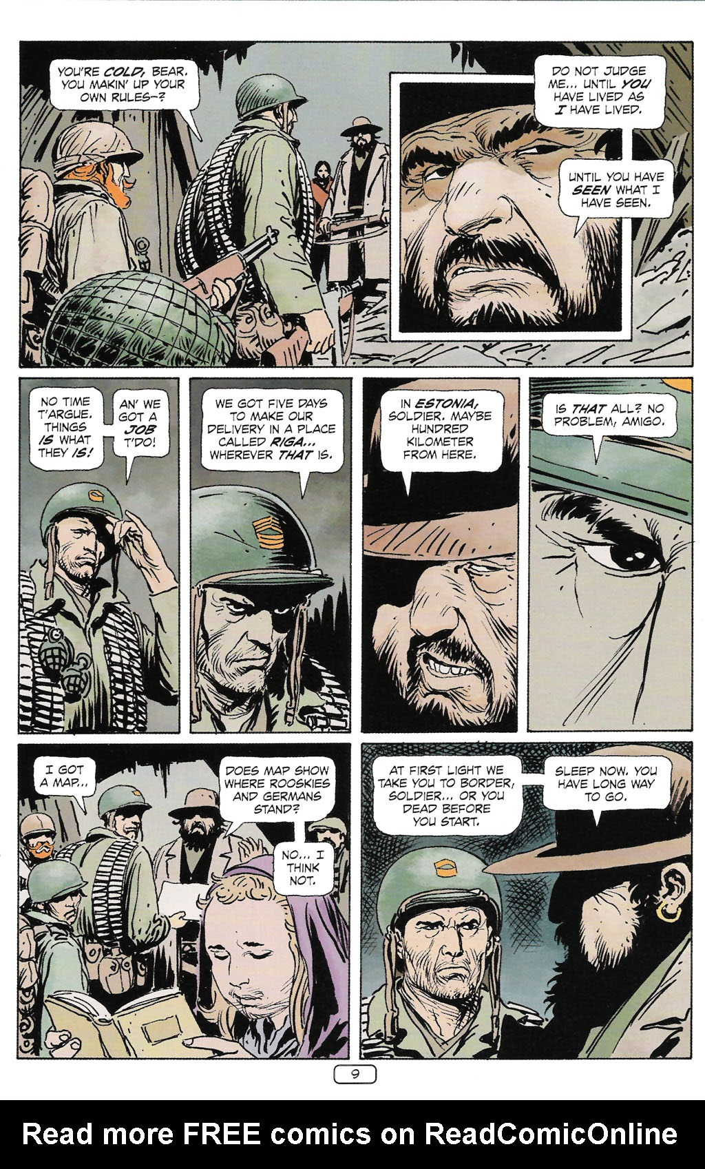Read online Sgt. Rock: The Prophecy comic -  Issue #2 - 10