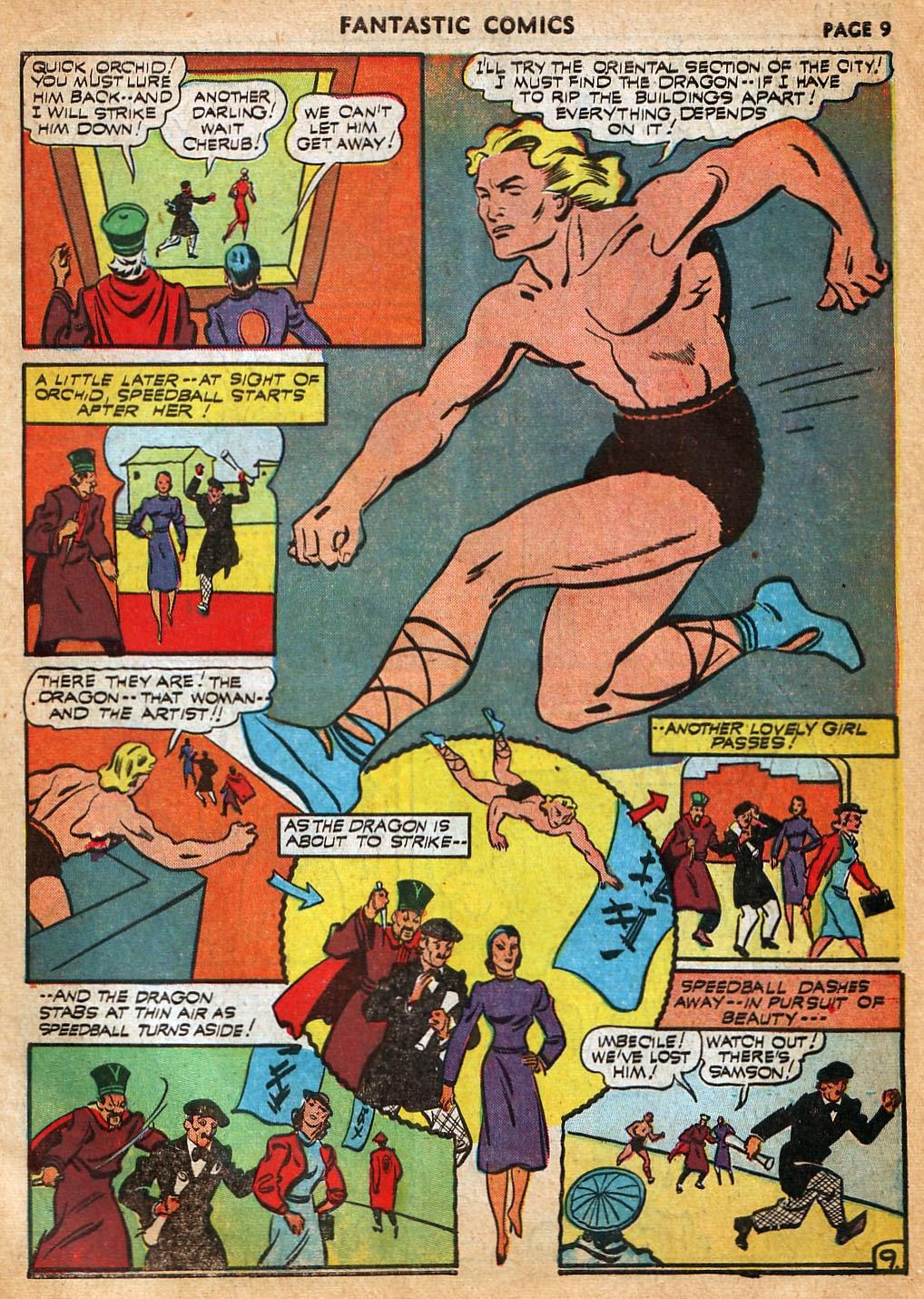 Read online Fantastic Comics comic -  Issue #22 - 11