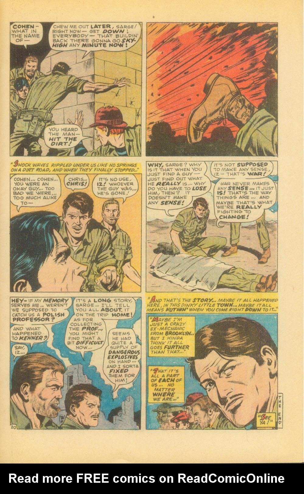 Read online Sgt. Fury comic -  Issue #86 - 29