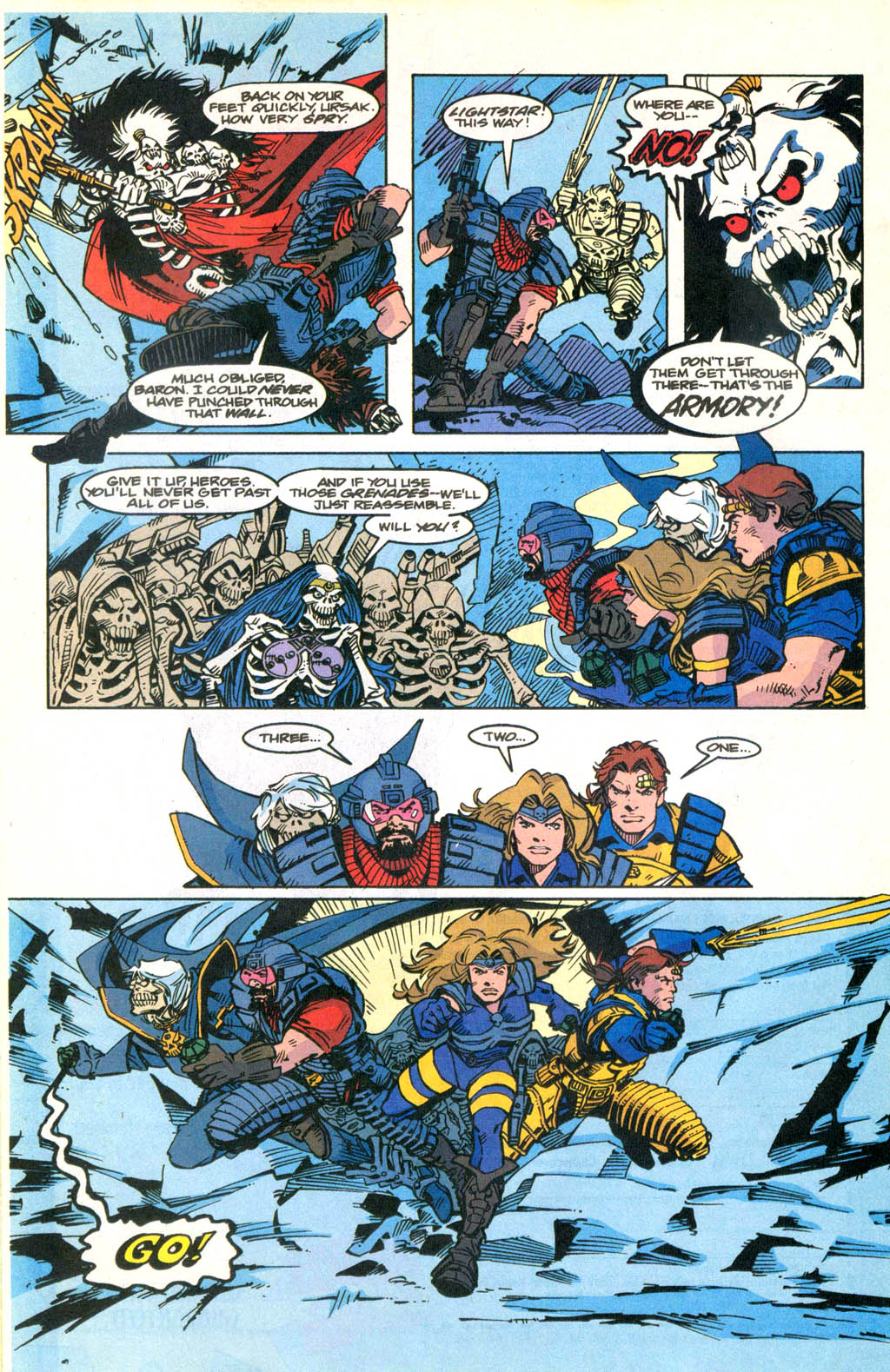 Skeleton Warriors Issue #2 #2 - English 19