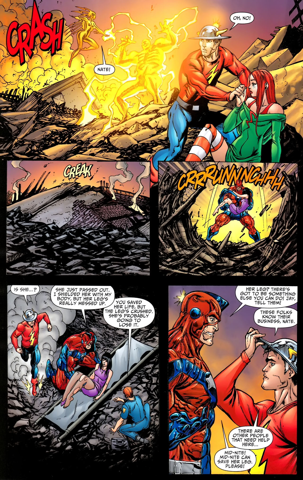 Read online JSA 80-Page Giant 2011 comic -  Issue # Full - 36