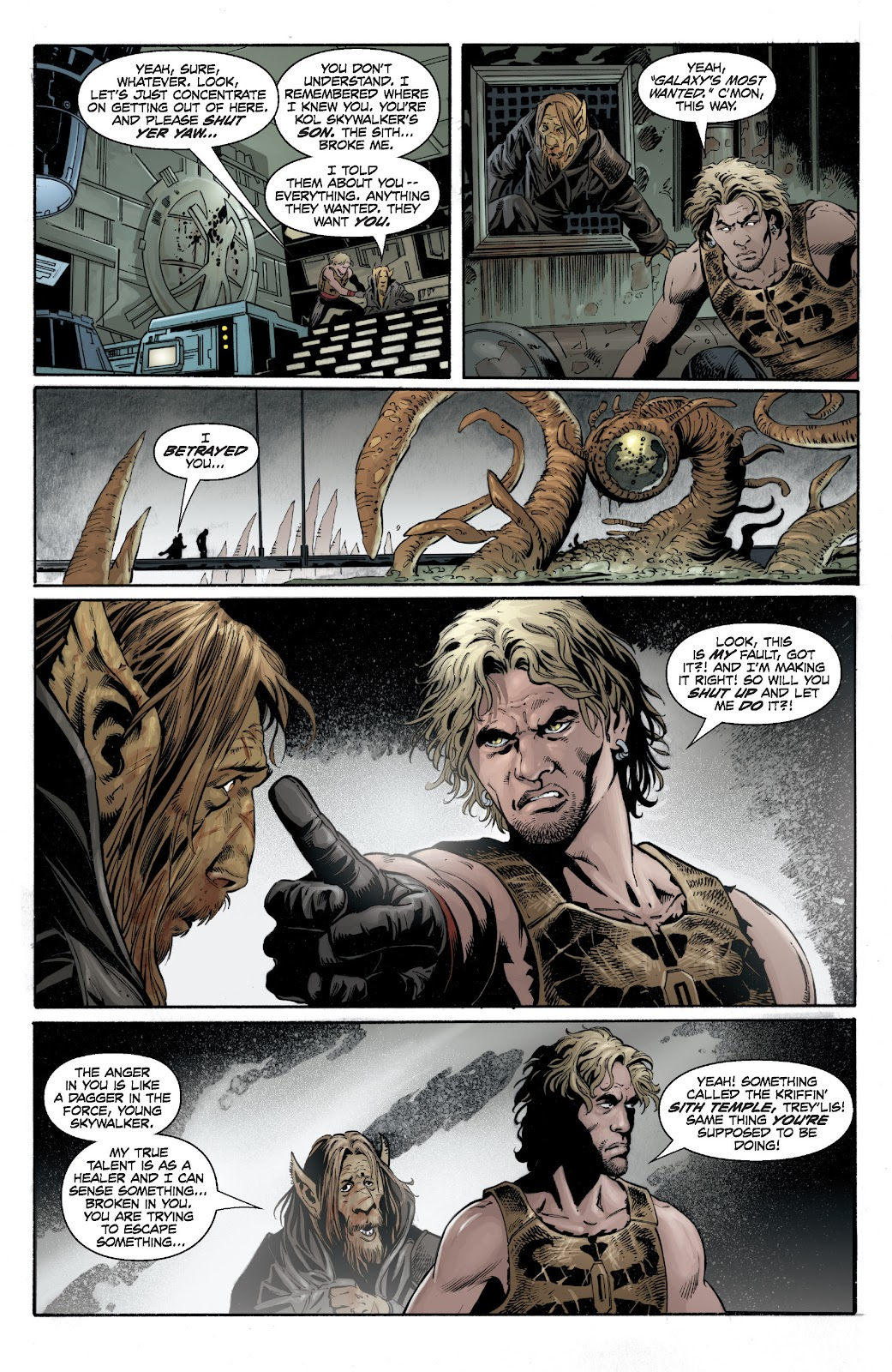 Read online Star Wars Legends: Legacy - Epic Collection comic -  Issue # TPB 1 (Part 4) - 36