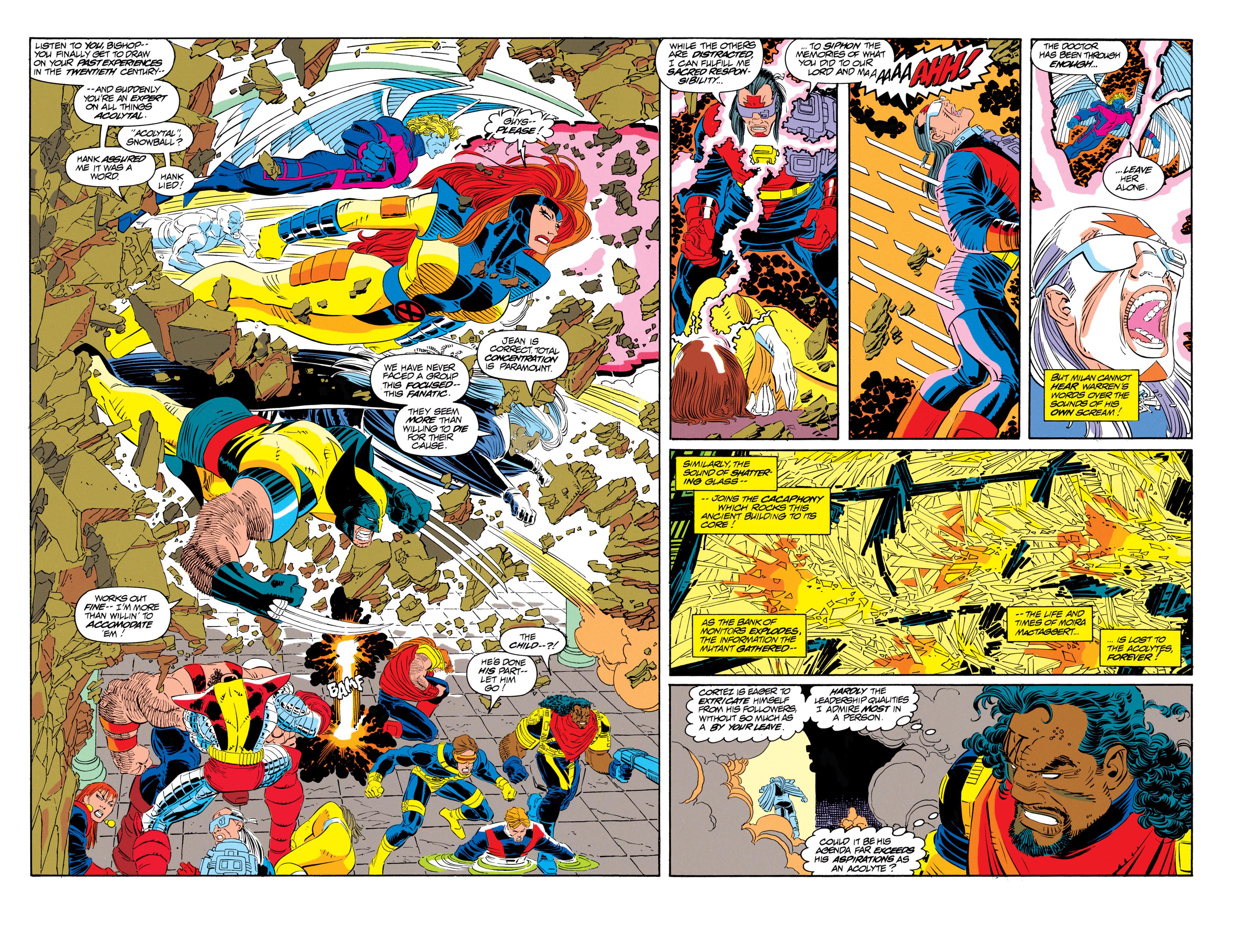 Read online Uncanny X-Men (1963) comic -  Issue #300 - 32