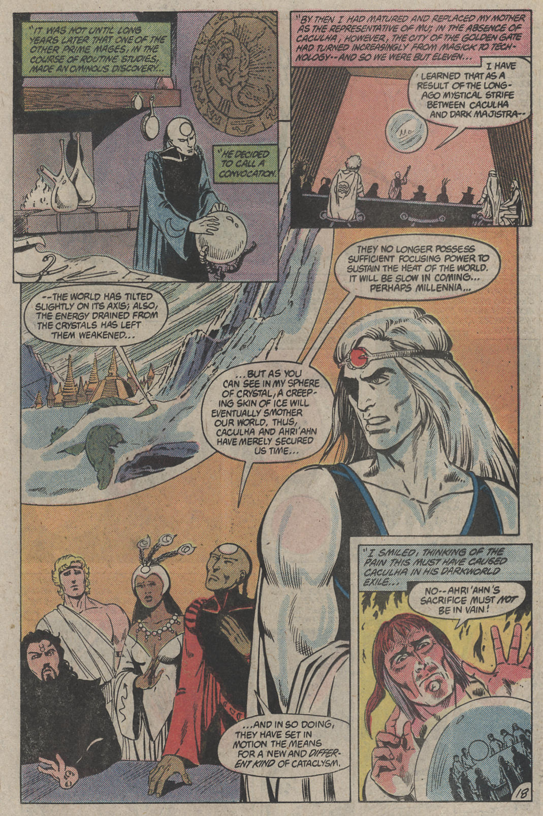 Read online Arion, Lord of Atlantis comic -  Issue #4 - 18