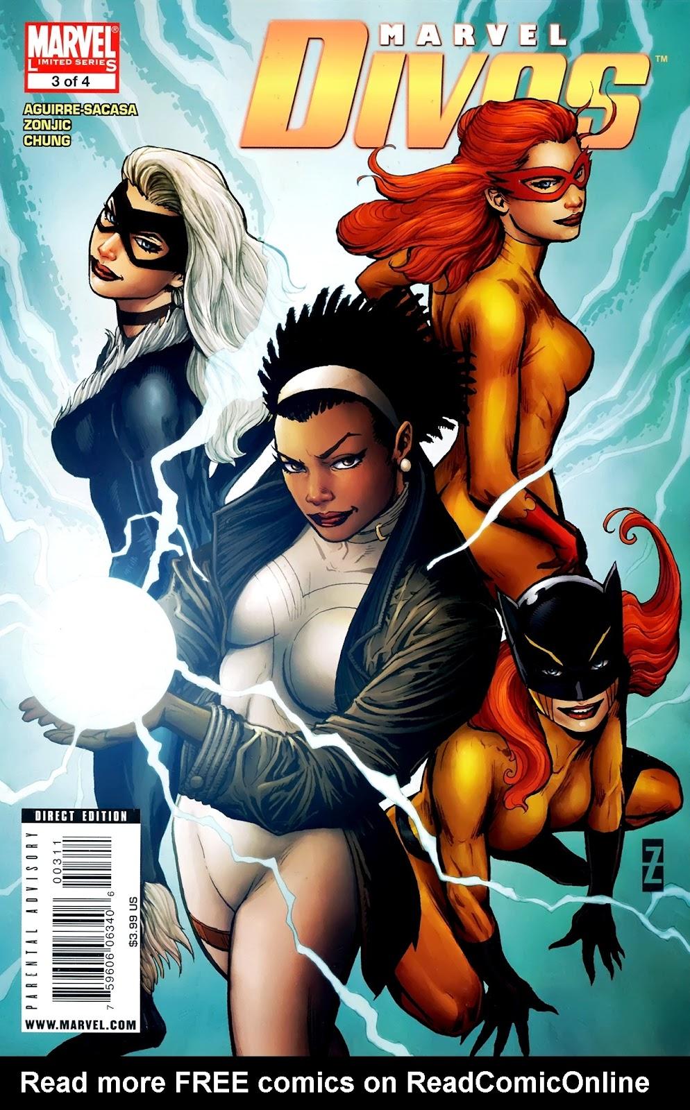 Marvel Divas issue 3 - Page 1