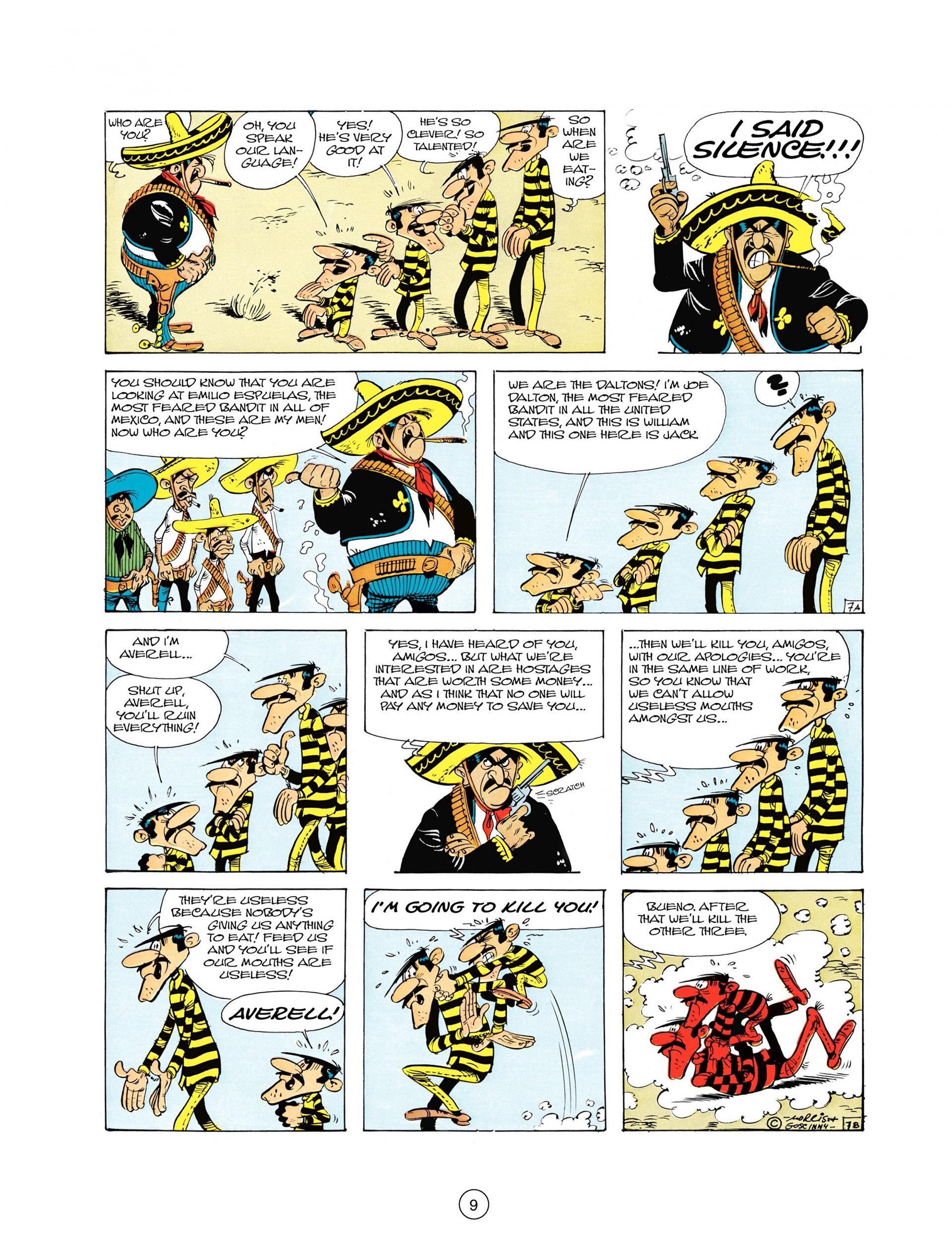 Read online A Lucky Luke Adventure comic -  Issue #10 - 9