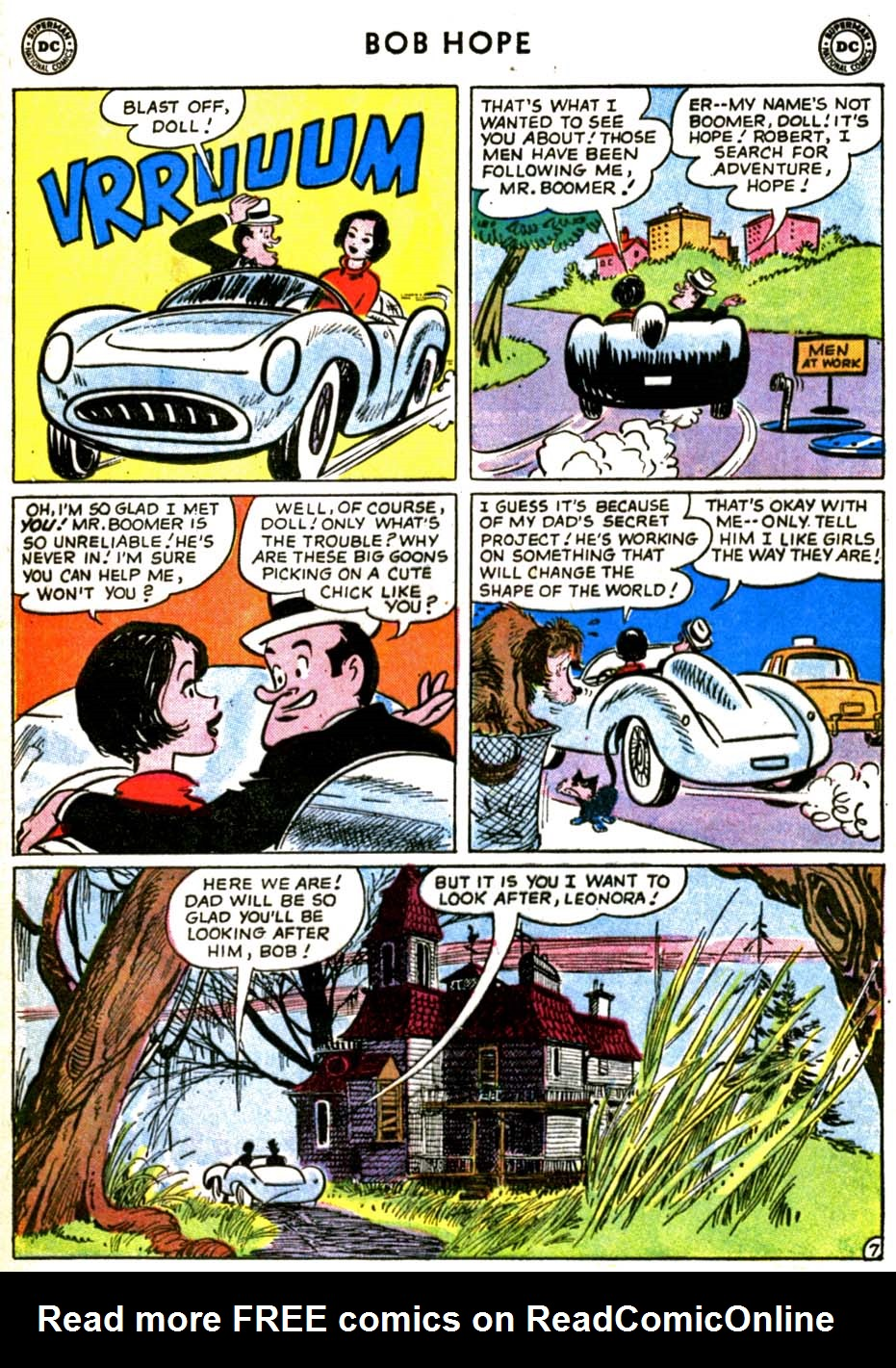 The Adventures of Bob Hope issue 69 - Page 9