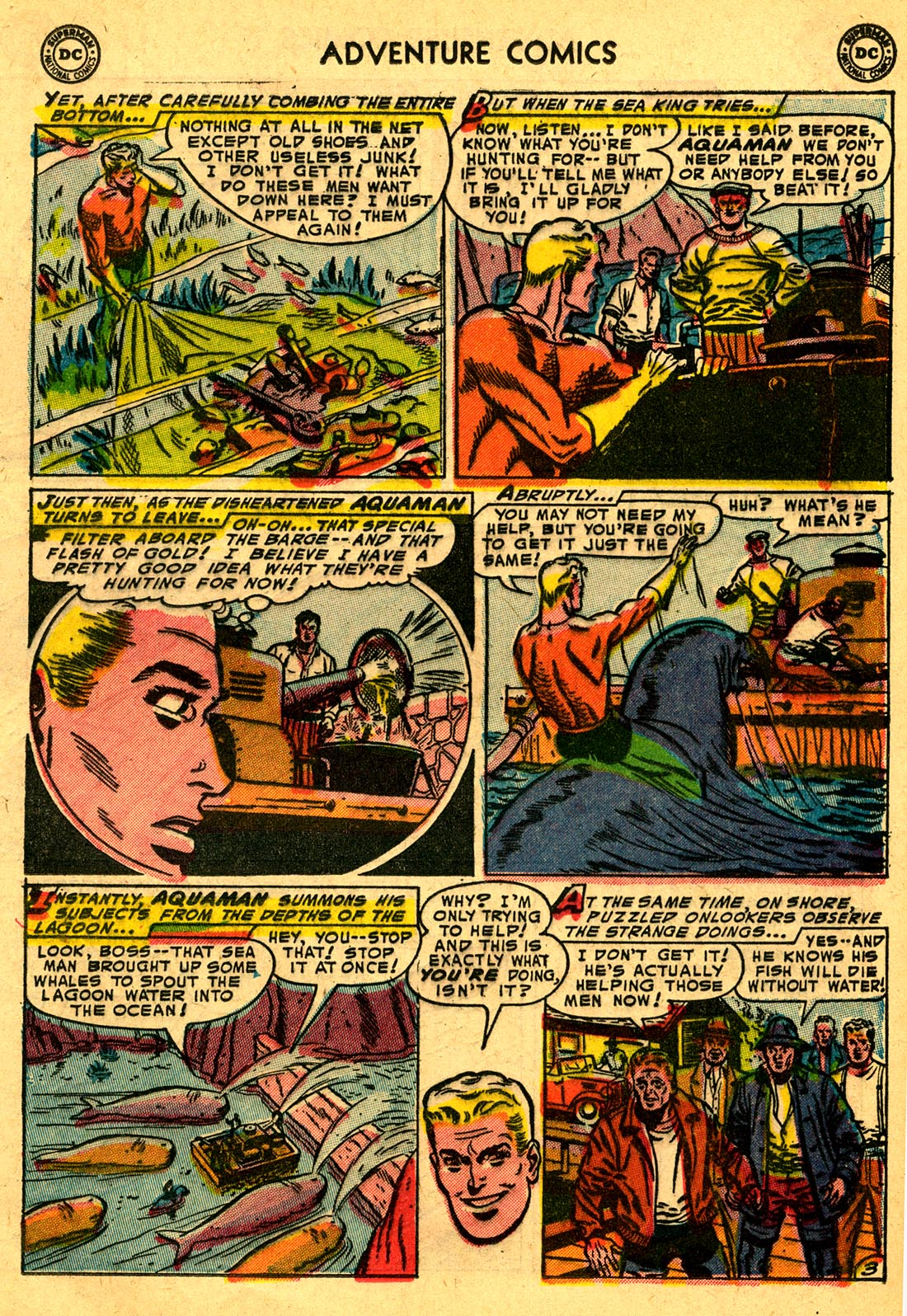 Read online Adventure Comics (1938) comic -  Issue #204 - 19
