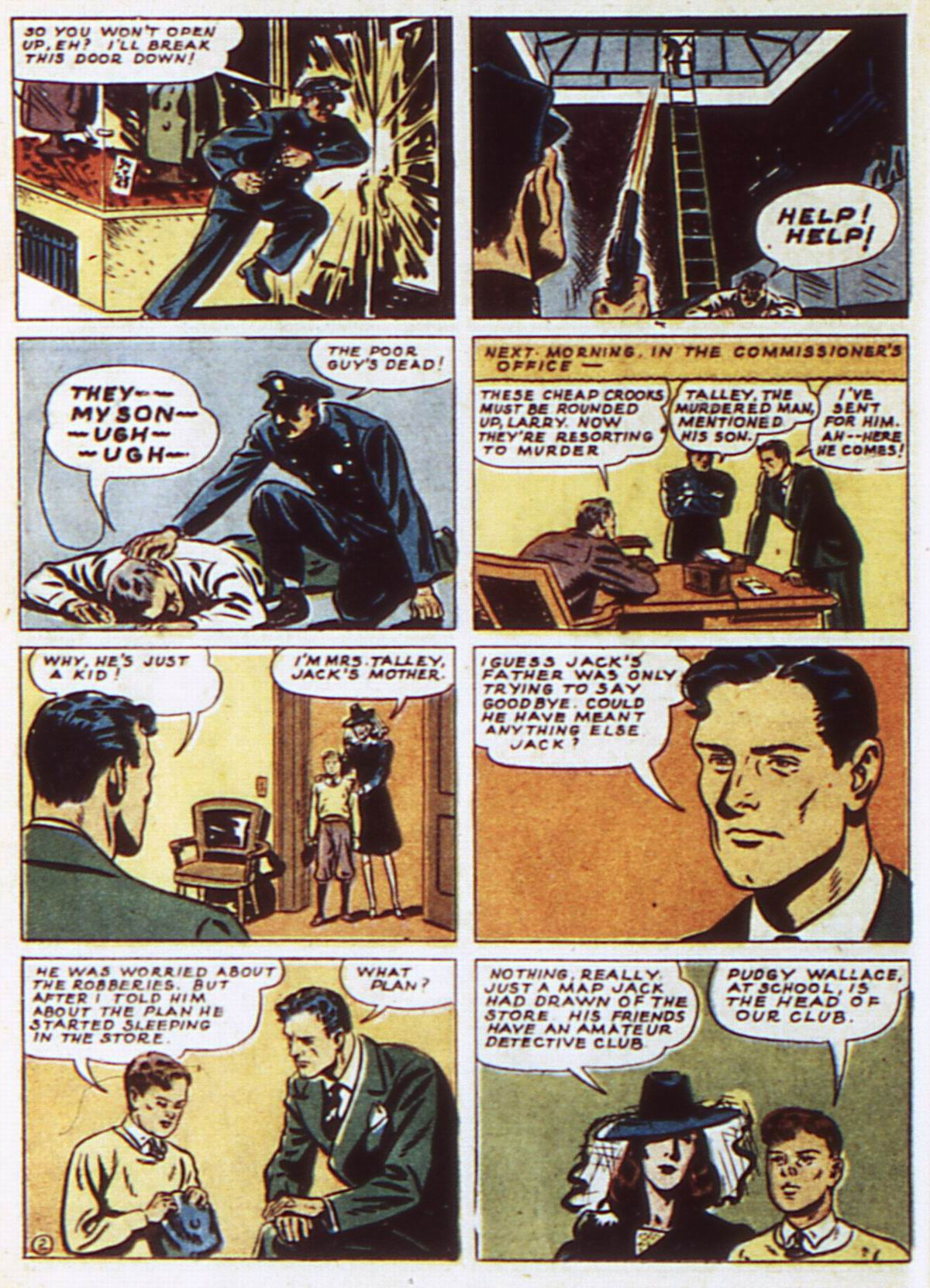 Read online Detective Comics (1937) comic -  Issue #52 - 32