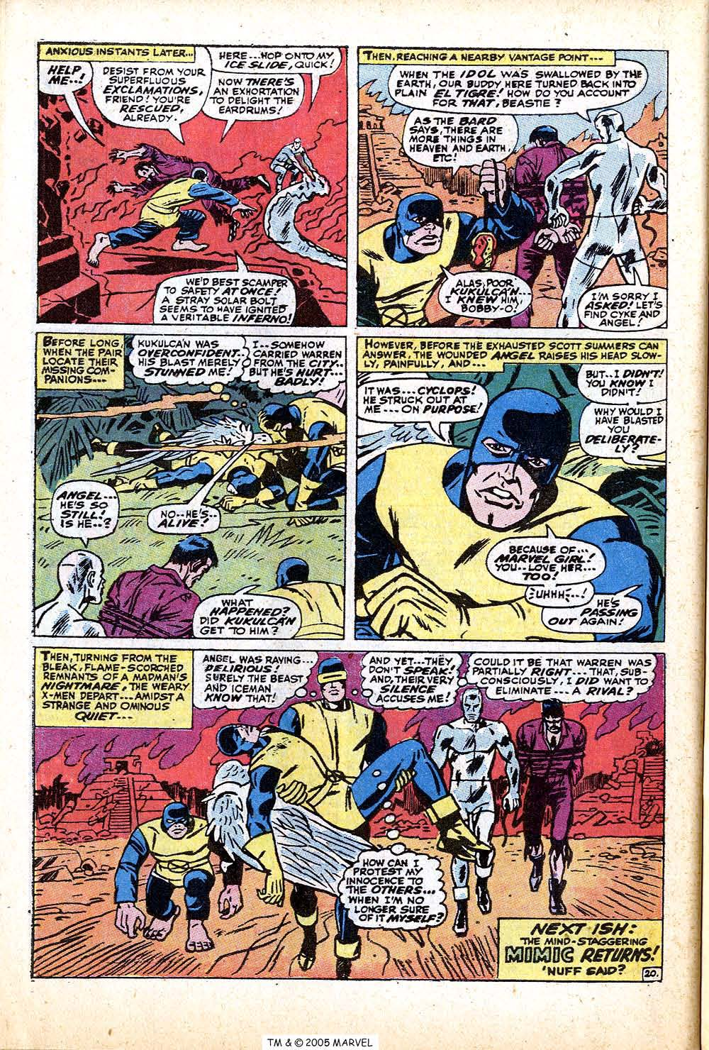 Read online Uncanny X-Men (1963) comic -  Issue #74 - 30
