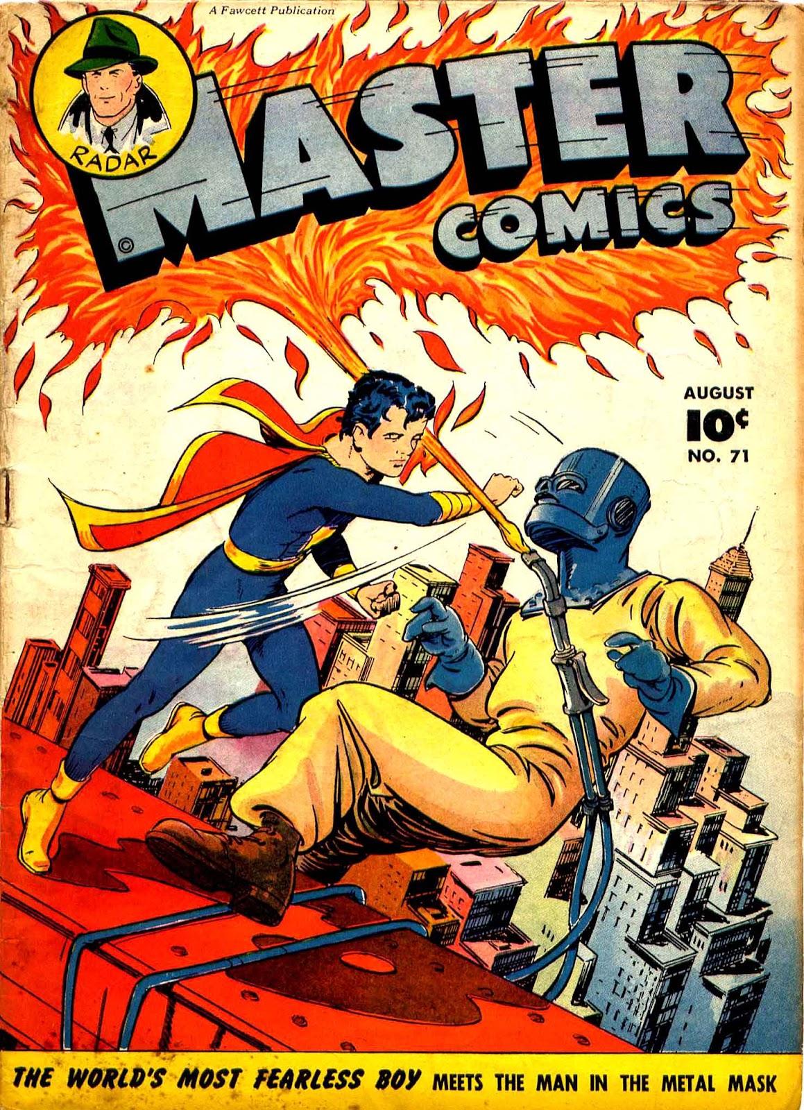 Master Comics 71 Page 1