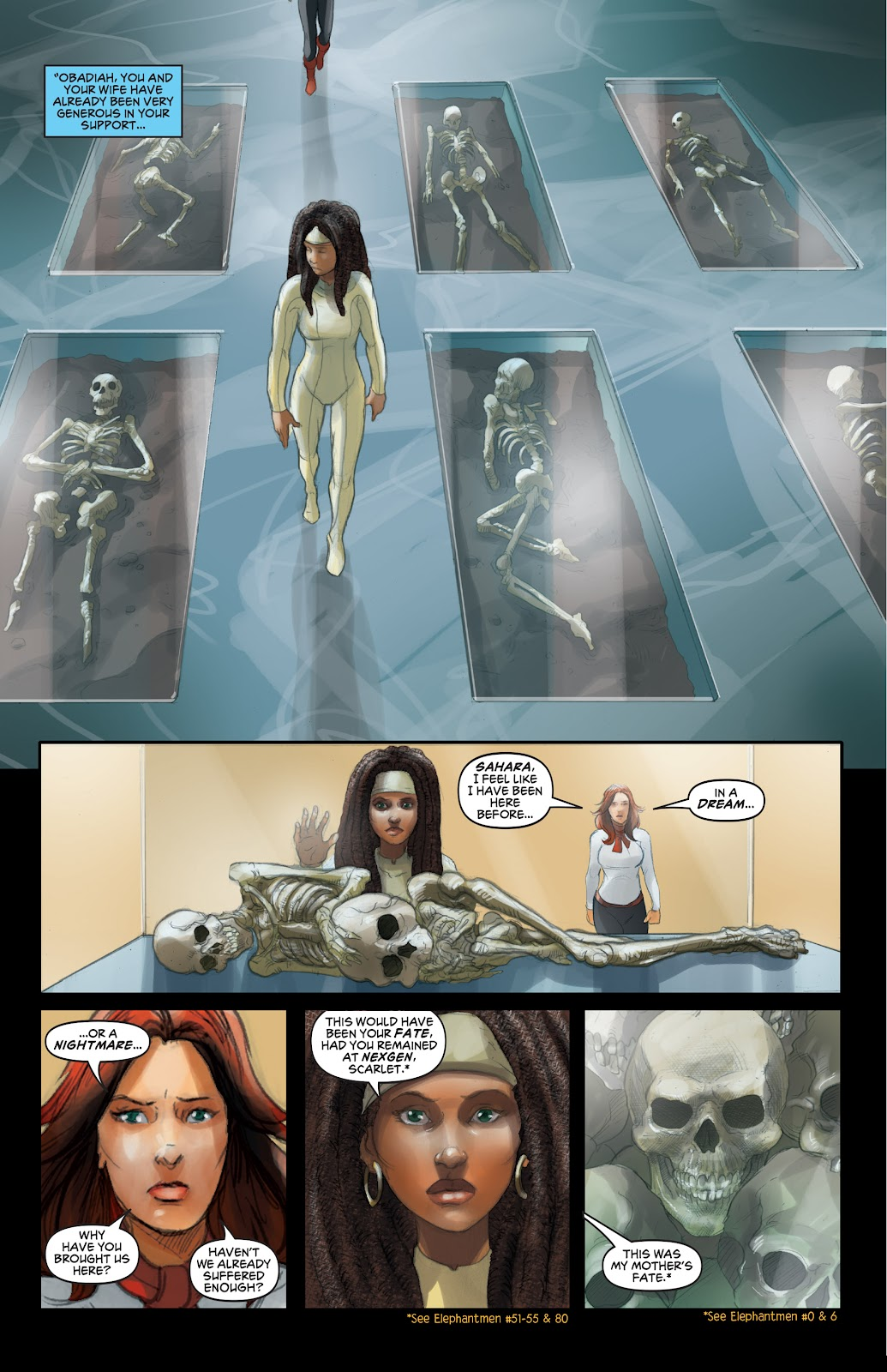 Read online Elephantmen 2261 Season Two: The Pentalion Job comic -  Issue # TPB - 22