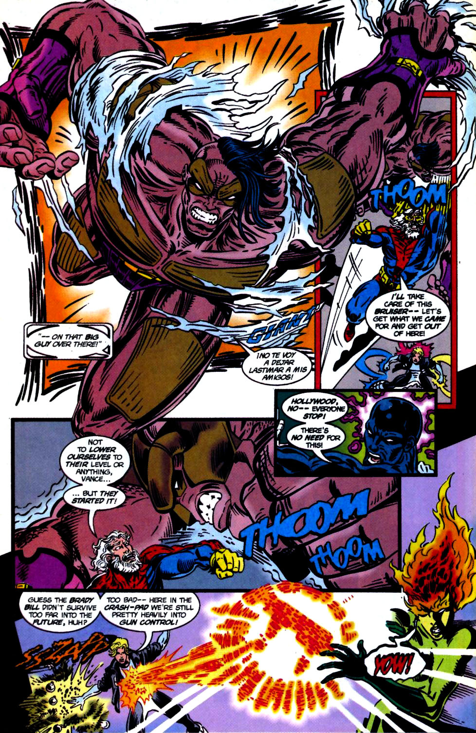The New Warriors Issue #68 #72 - English 16