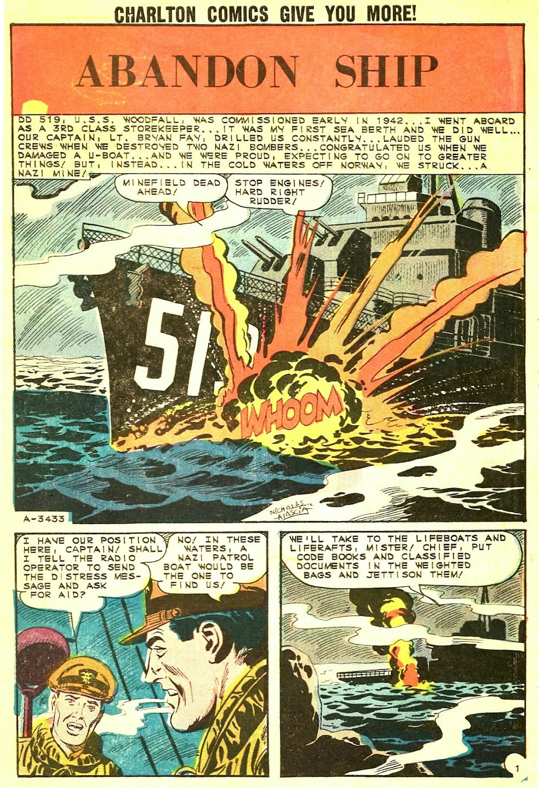 Read online Fightin' Navy comic -  Issue #115 - 3