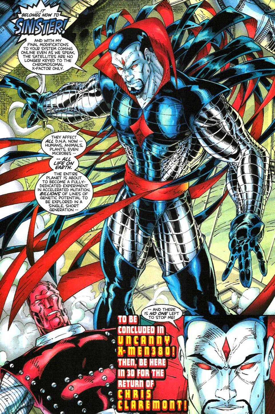 X-Men (1991) 99 Page 22