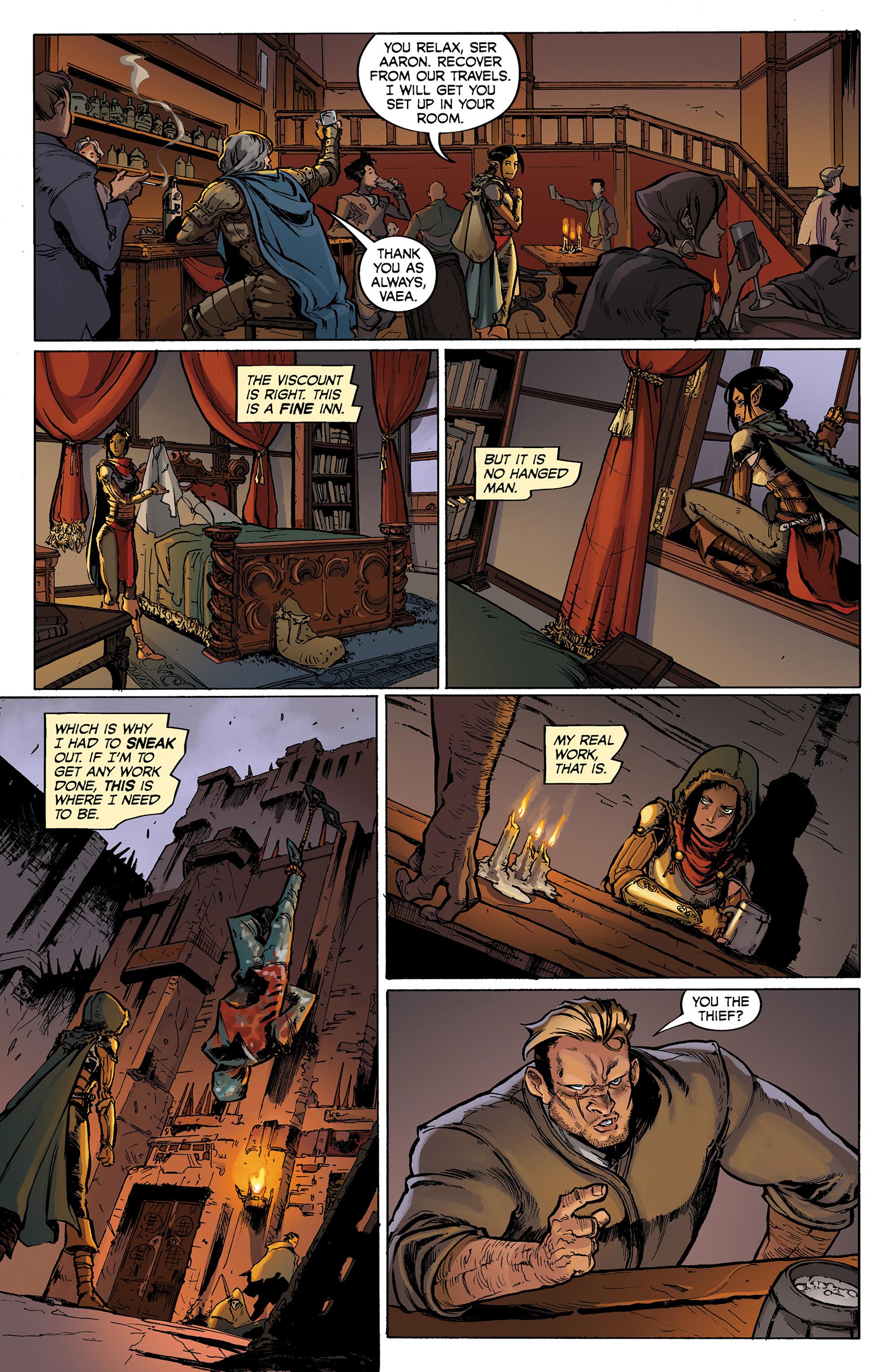 Read online Dragon Age: Knight Errant comic -  Issue #1 - 10