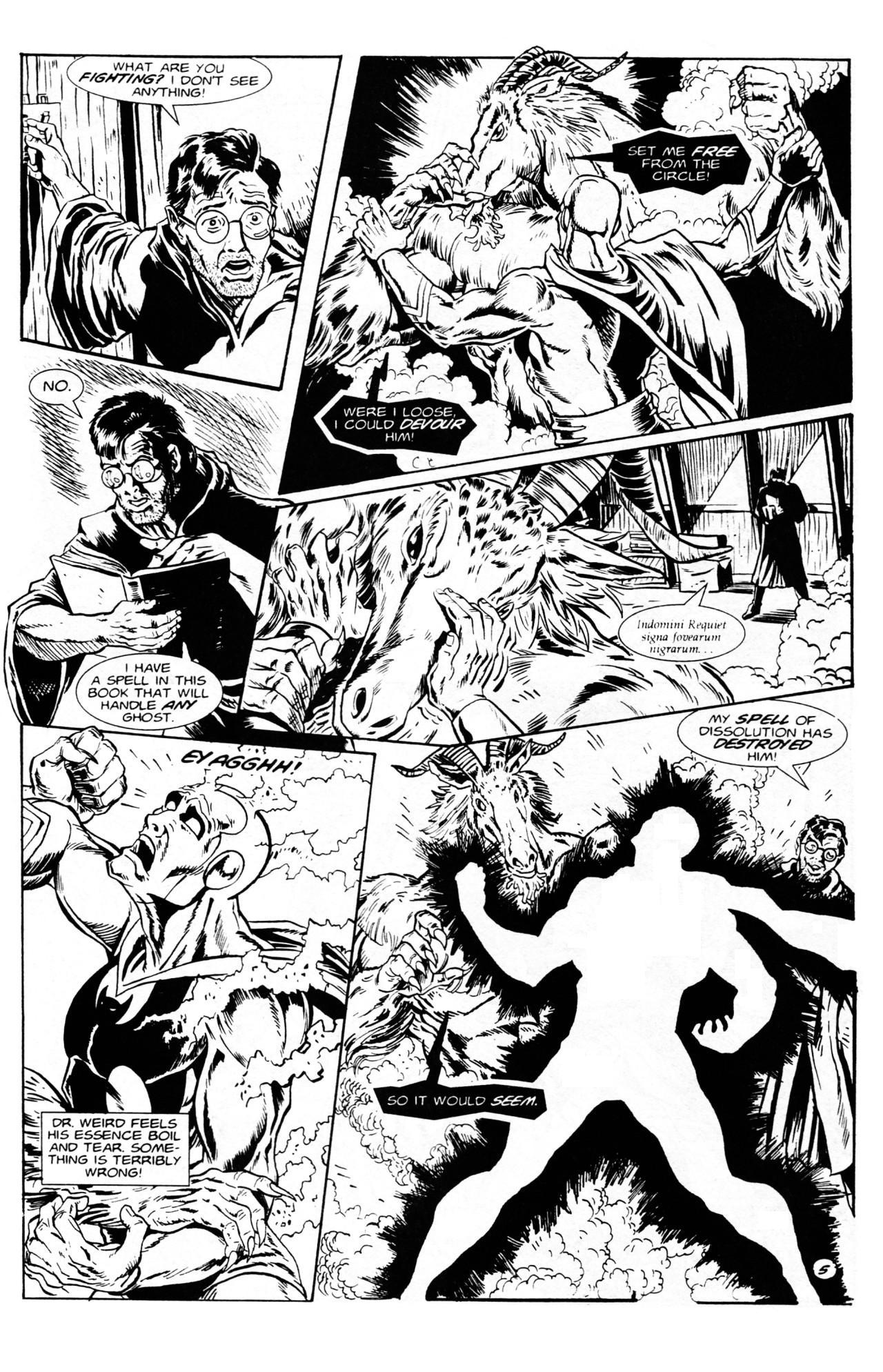 Read online Dr. Weird (1994) comic -  Issue #1 - 7