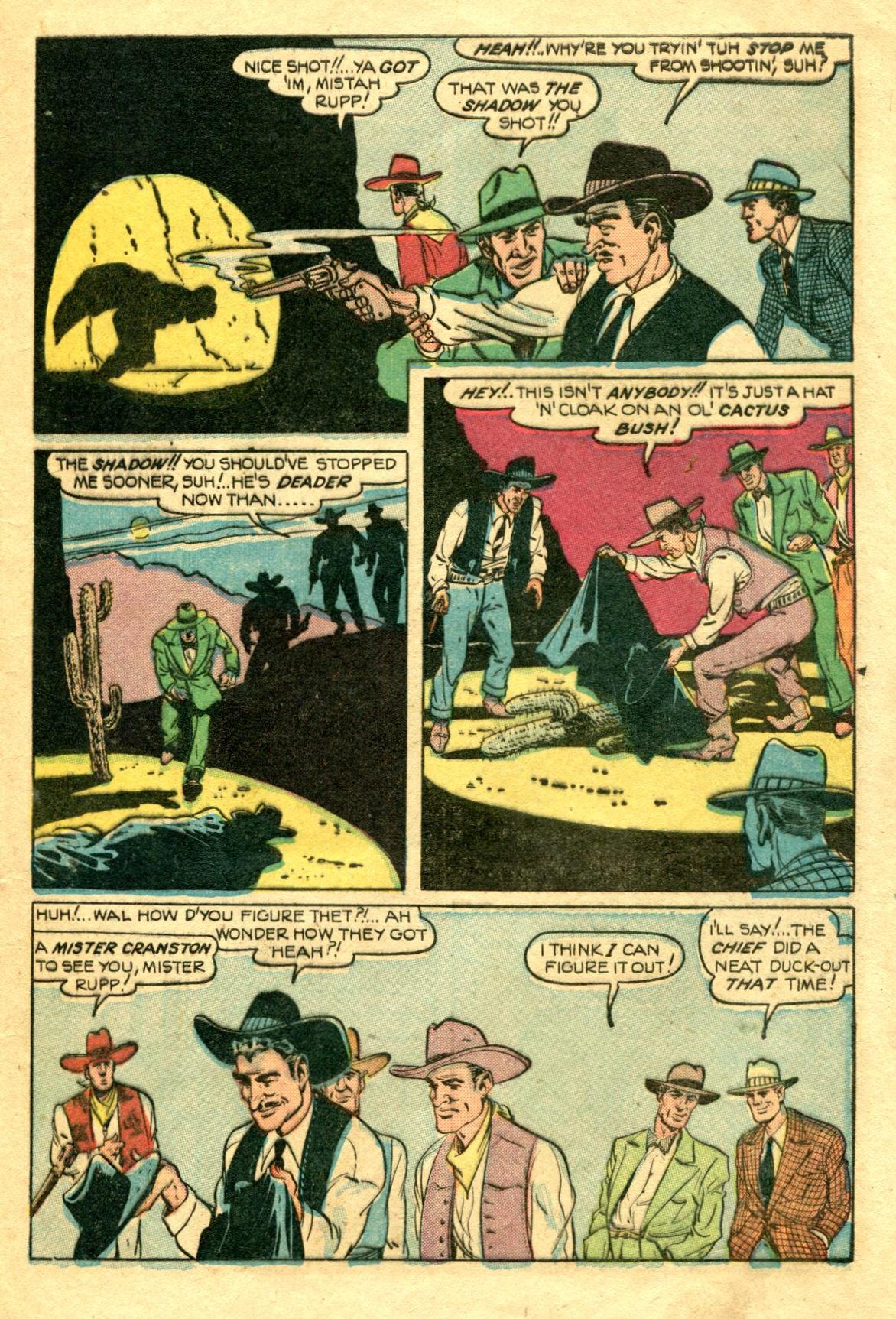 Read online Shadow Comics comic -  Issue #75 - 8