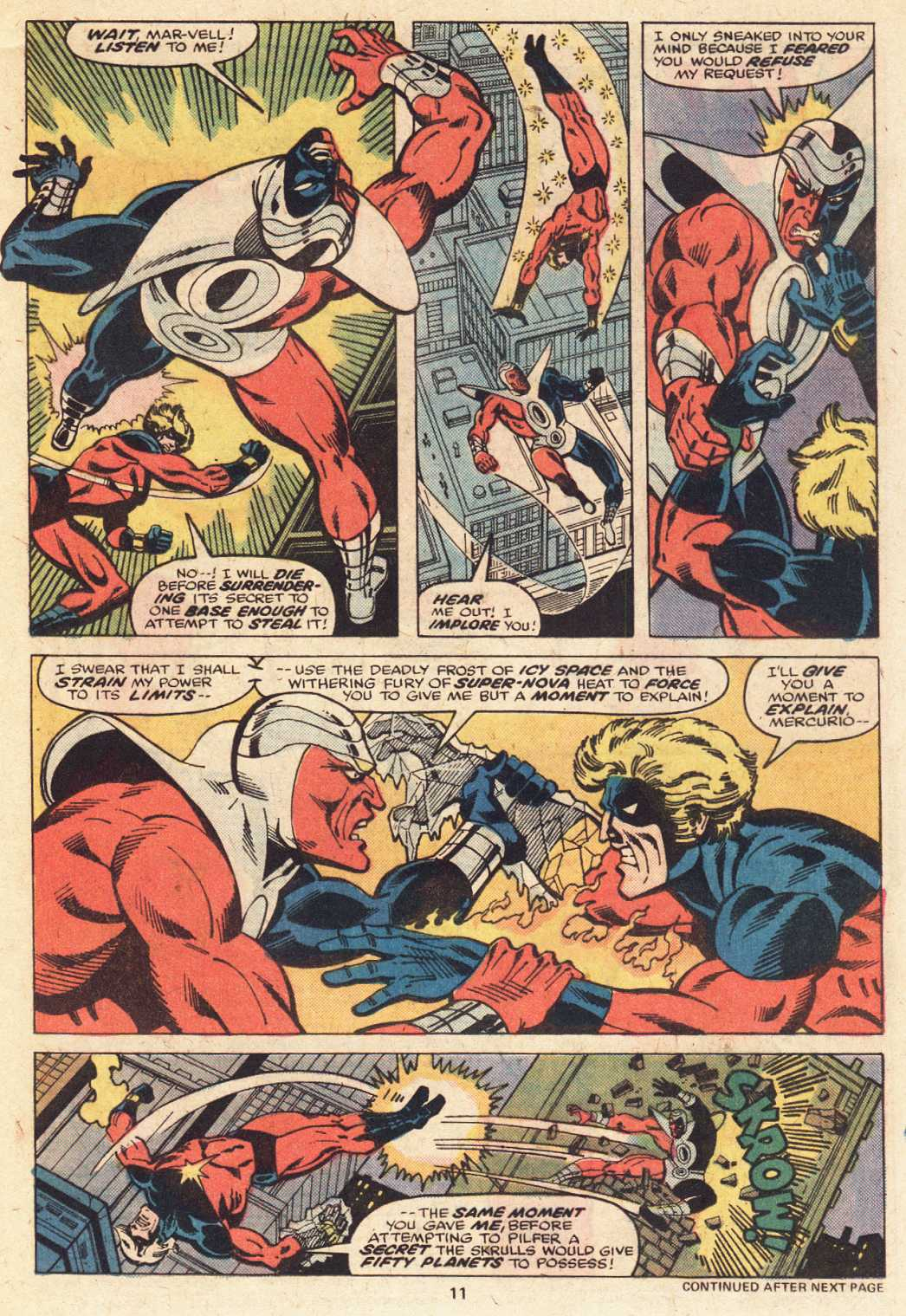 Captain Marvel (1968) issue 51 - Page 8