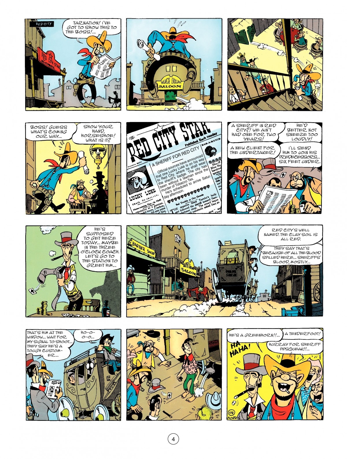 Read online A Lucky Luke Adventure comic -  Issue #44 - 4