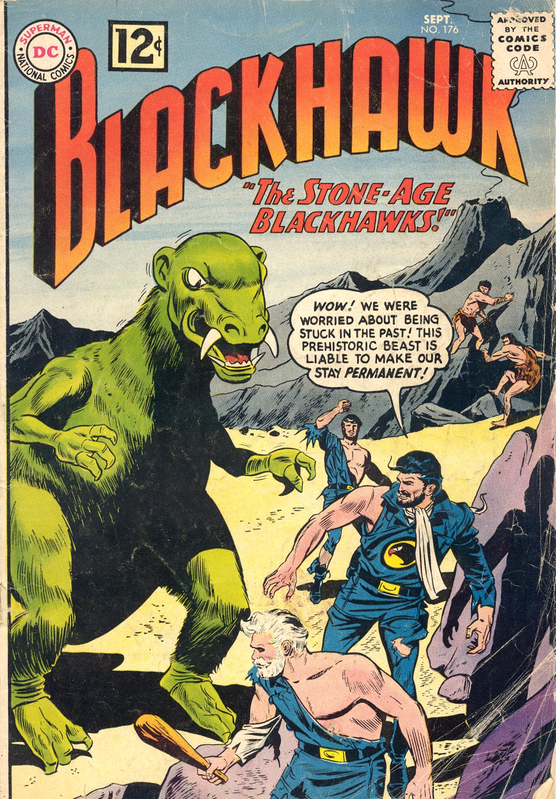 Blackhawk (1957) 176 Page 1