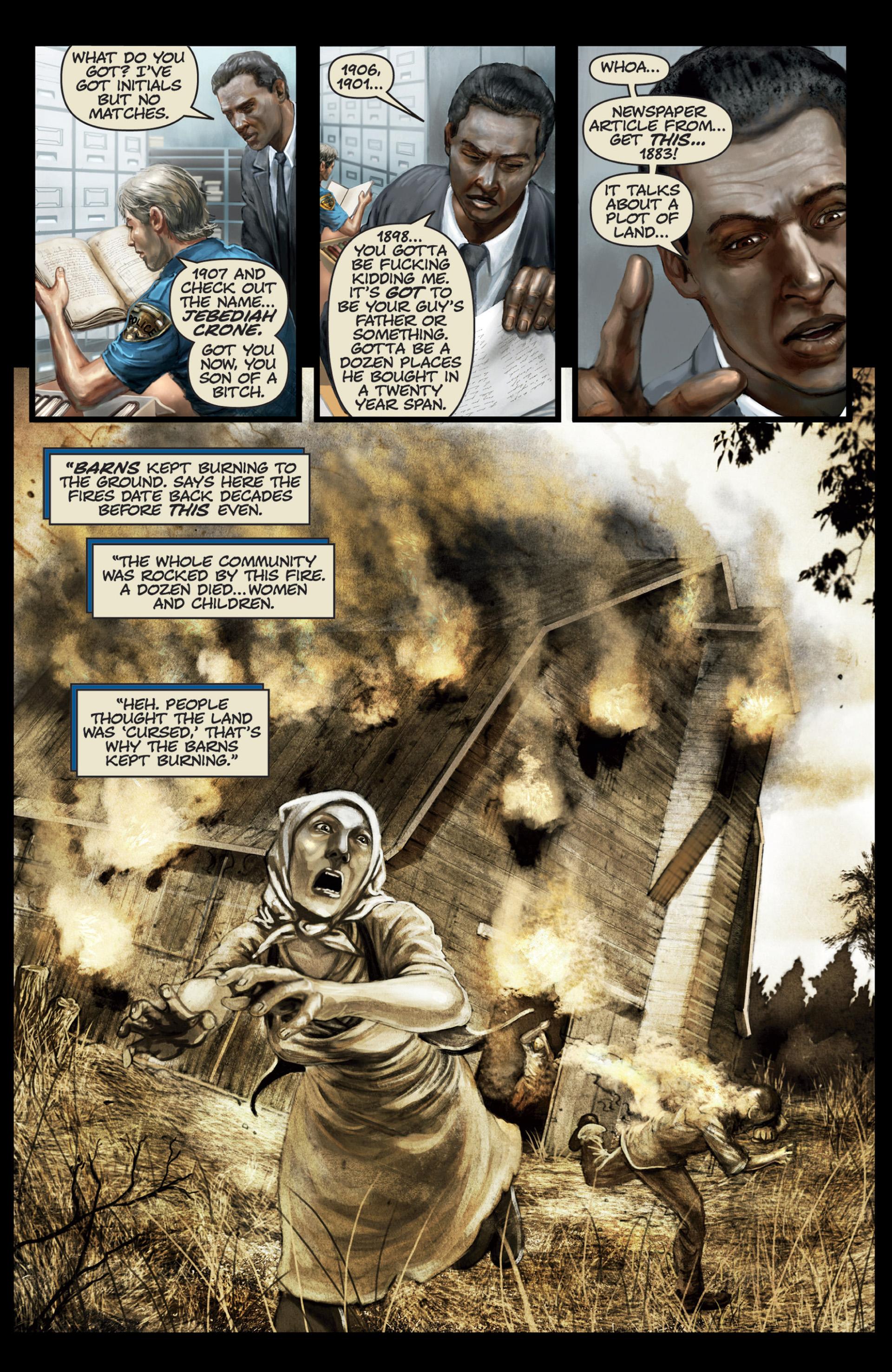 Read online Abattoir comic -  Issue #4 - 17