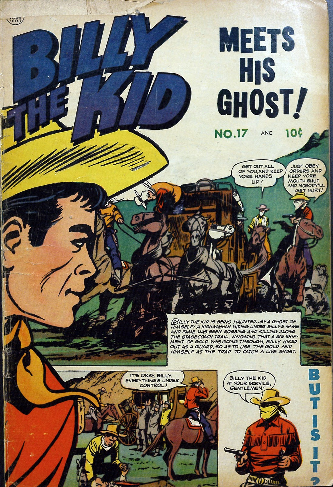 Billy the Kid Adventure Magazine issue 17 - Page 1