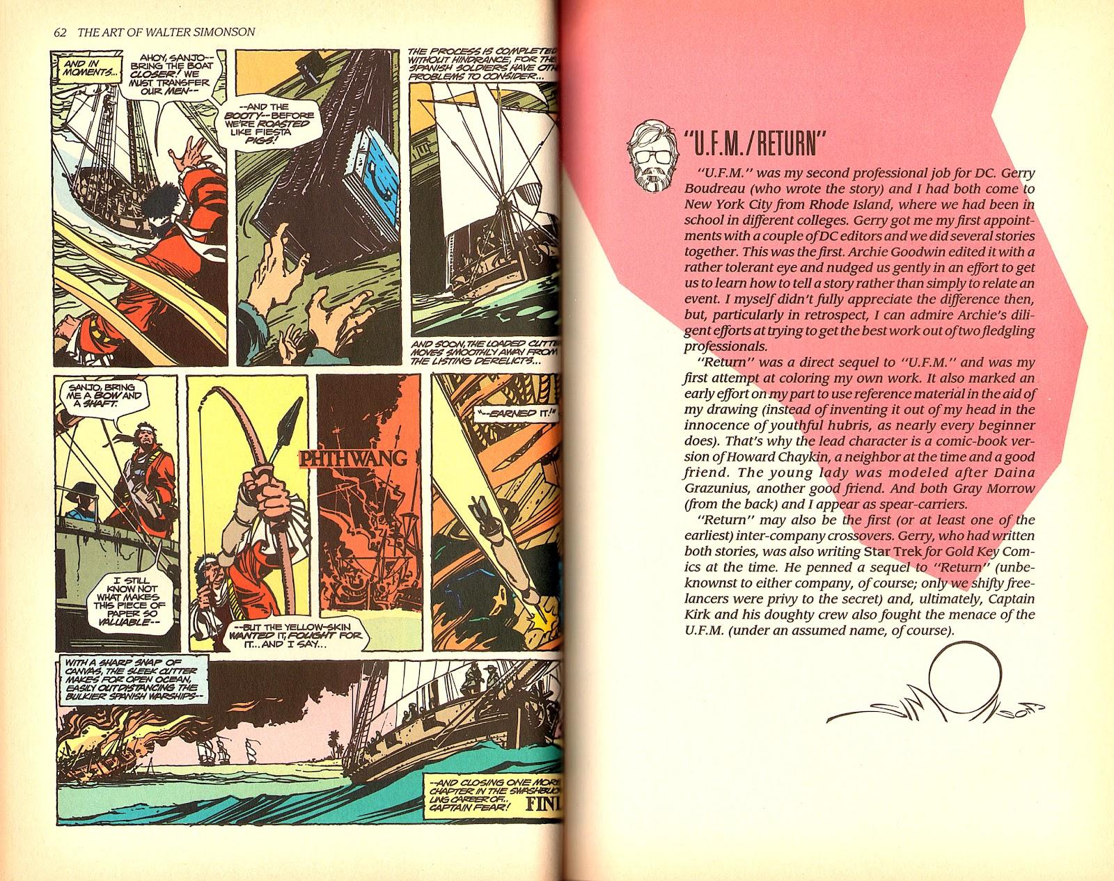 Read online The Art of Walter Simonson comic -  Issue # TPB - 33
