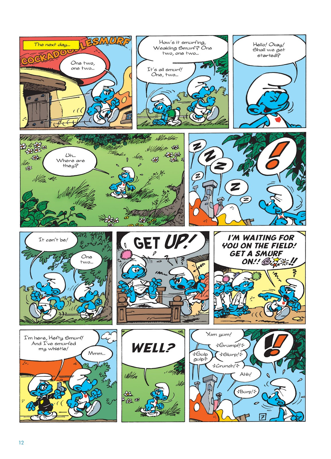Read online The Smurfs comic -  Issue #11 - 12