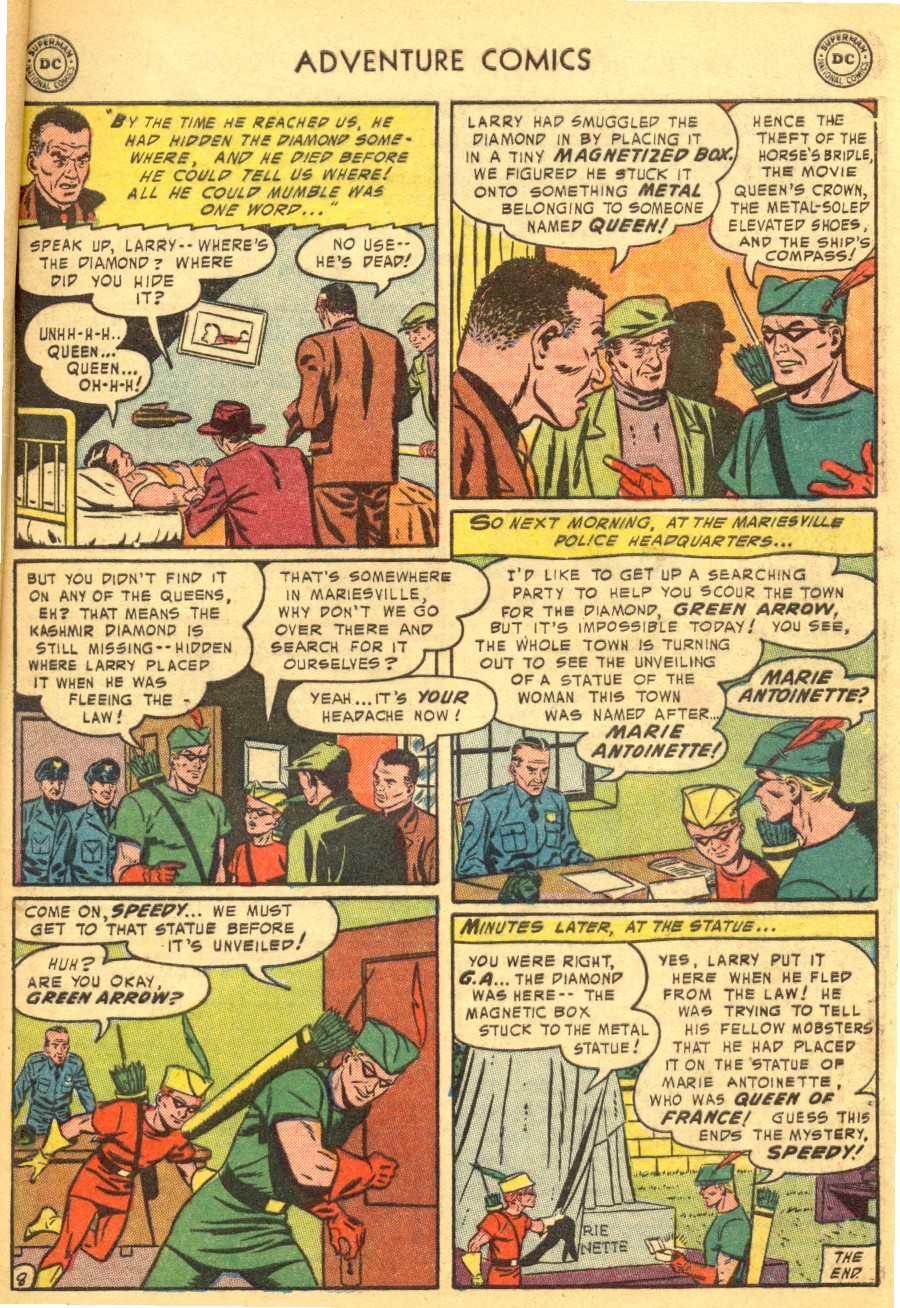 Read online Adventure Comics (1938) comic -  Issue #203 - 41