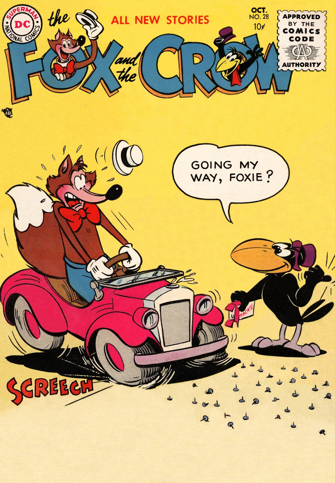 The Fox and the Crow 28 Page 1