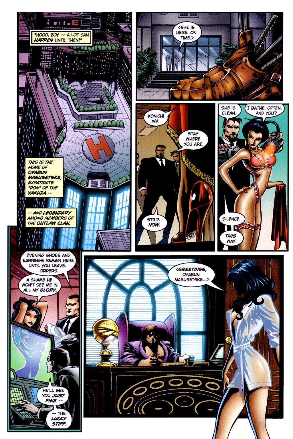 Read online Jade Warriors comic -  Issue #2 - 18