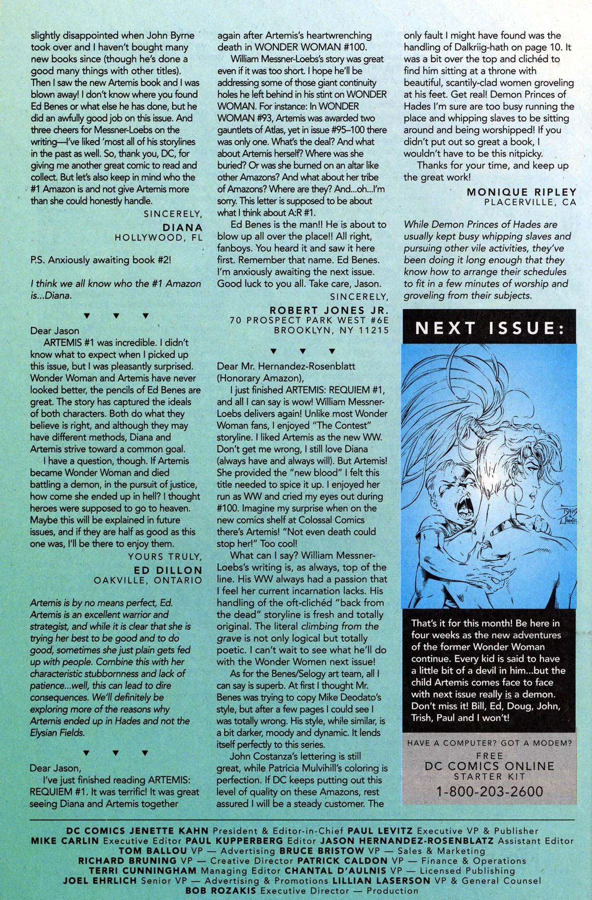 Read online Artemis: Requiem comic -  Issue #4 - 32