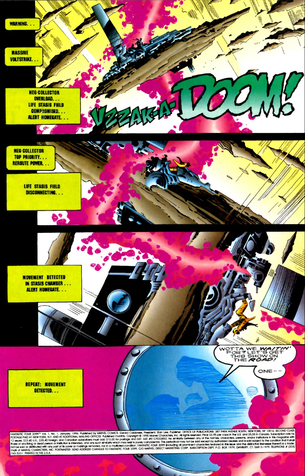 Fantastic Four 2099 1 Page 2