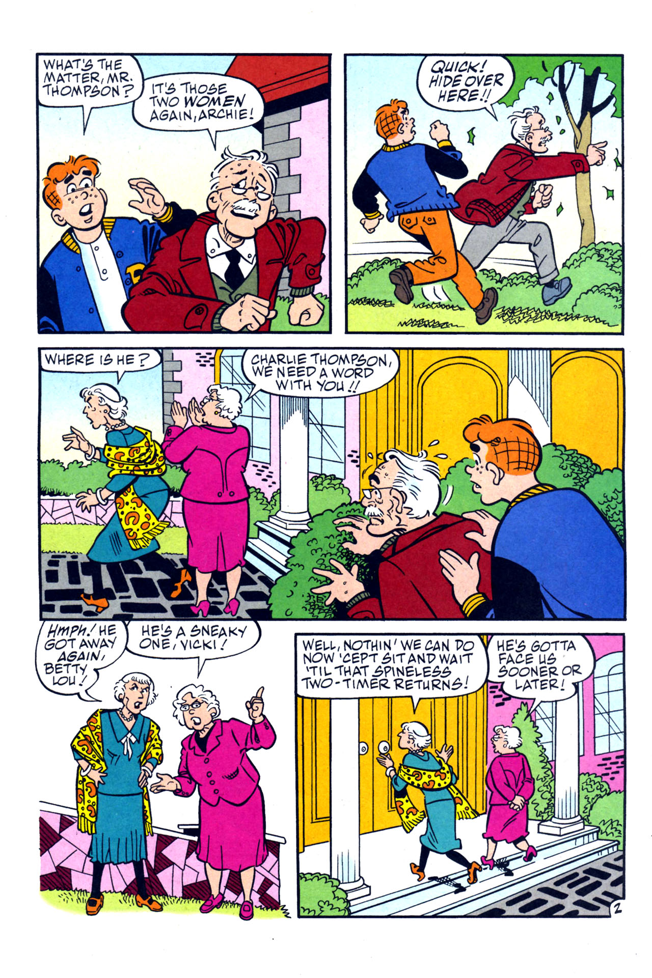 Read online Archie (1960) comic -  Issue #579 - 14