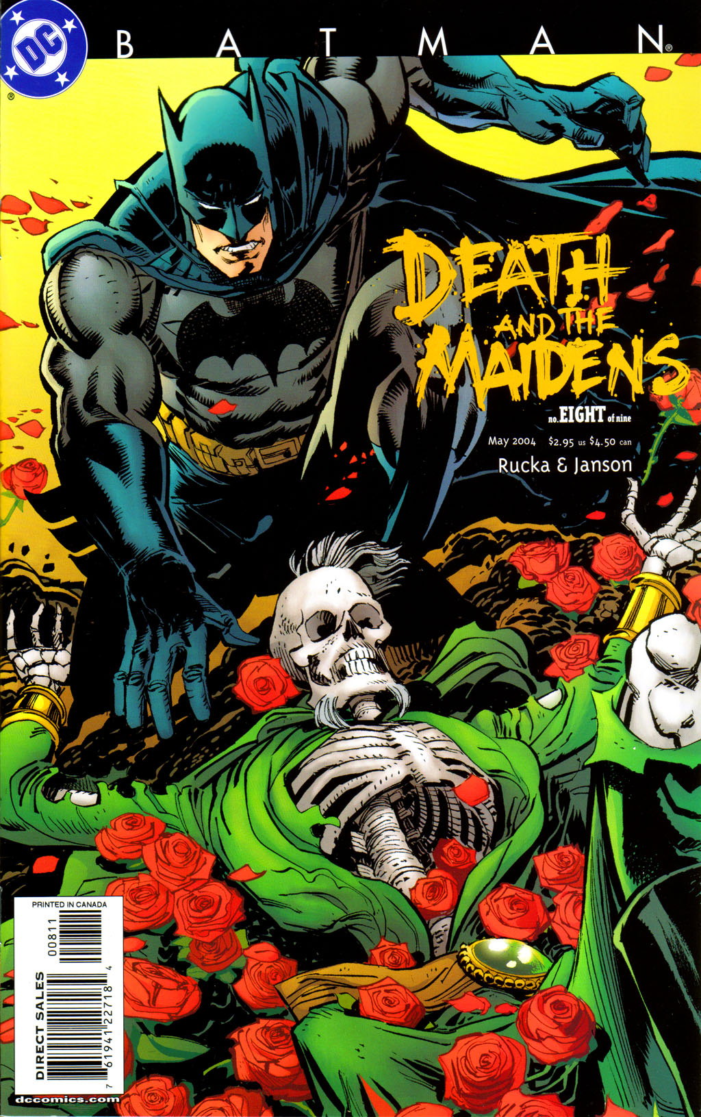 Read online Batman: Death and the Maidens comic -  Issue #8 - 1