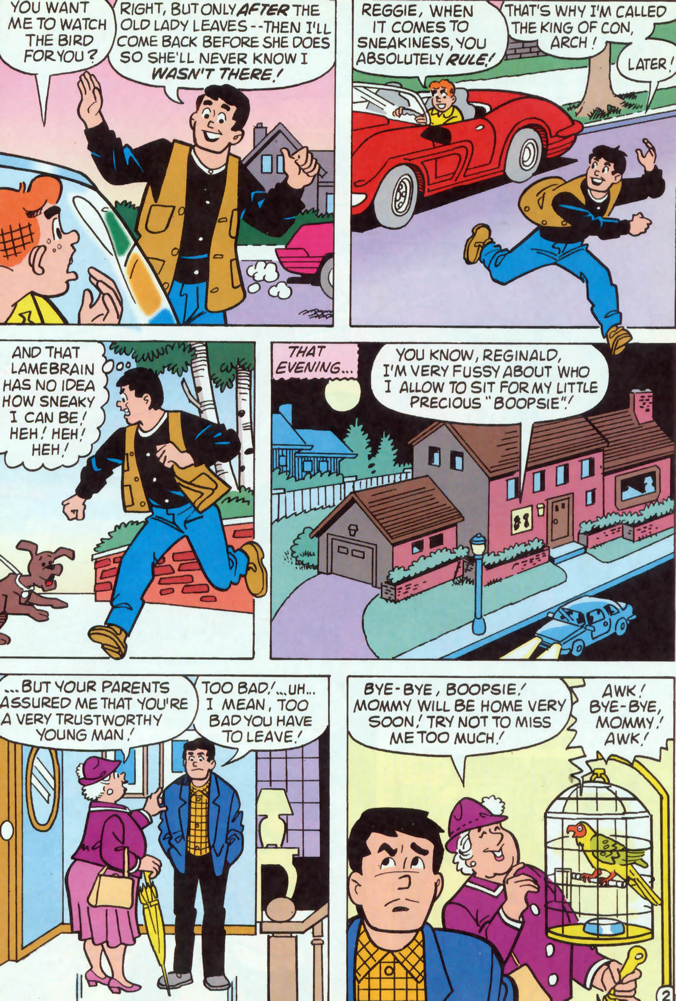 Read online Archie (1960) comic -  Issue #460 - 9