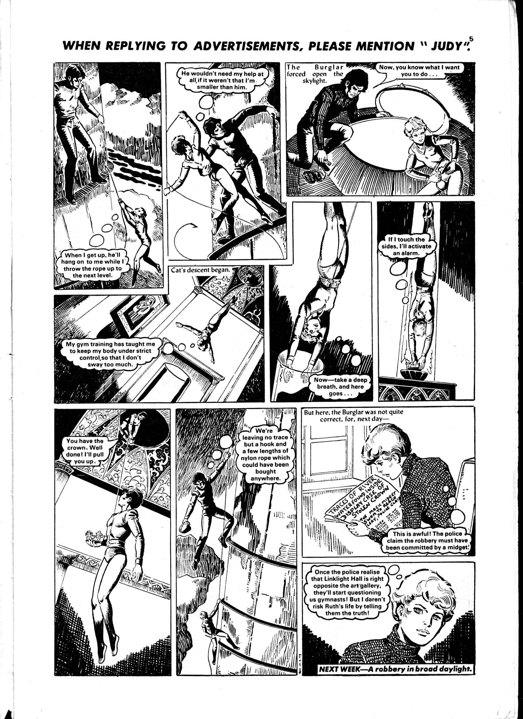 Read online Judy comic -  Issue #1 - 5