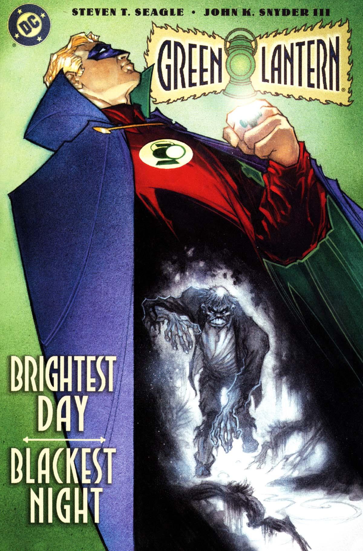 Green Lantern: Brightest Day; Blackest Night Full Page 1