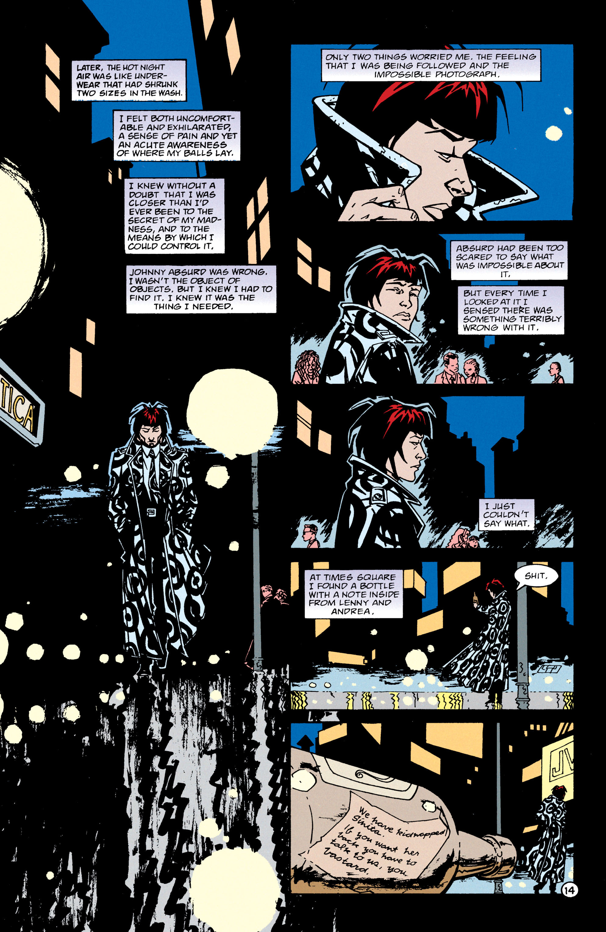 Read online Shade, the Changing Man comic -  Issue #65 - 15