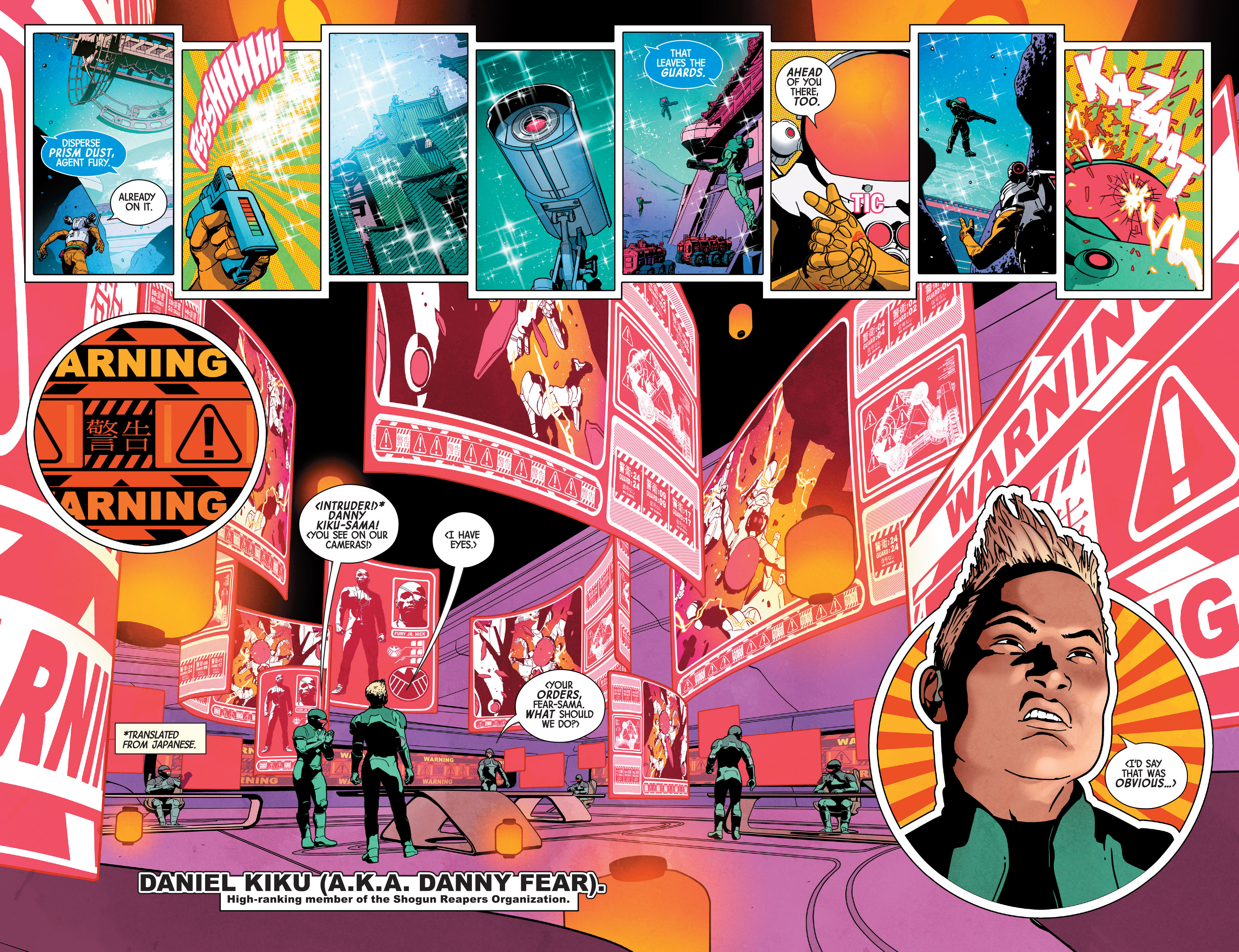 Read online Nick Fury comic -  Issue #2 - 5